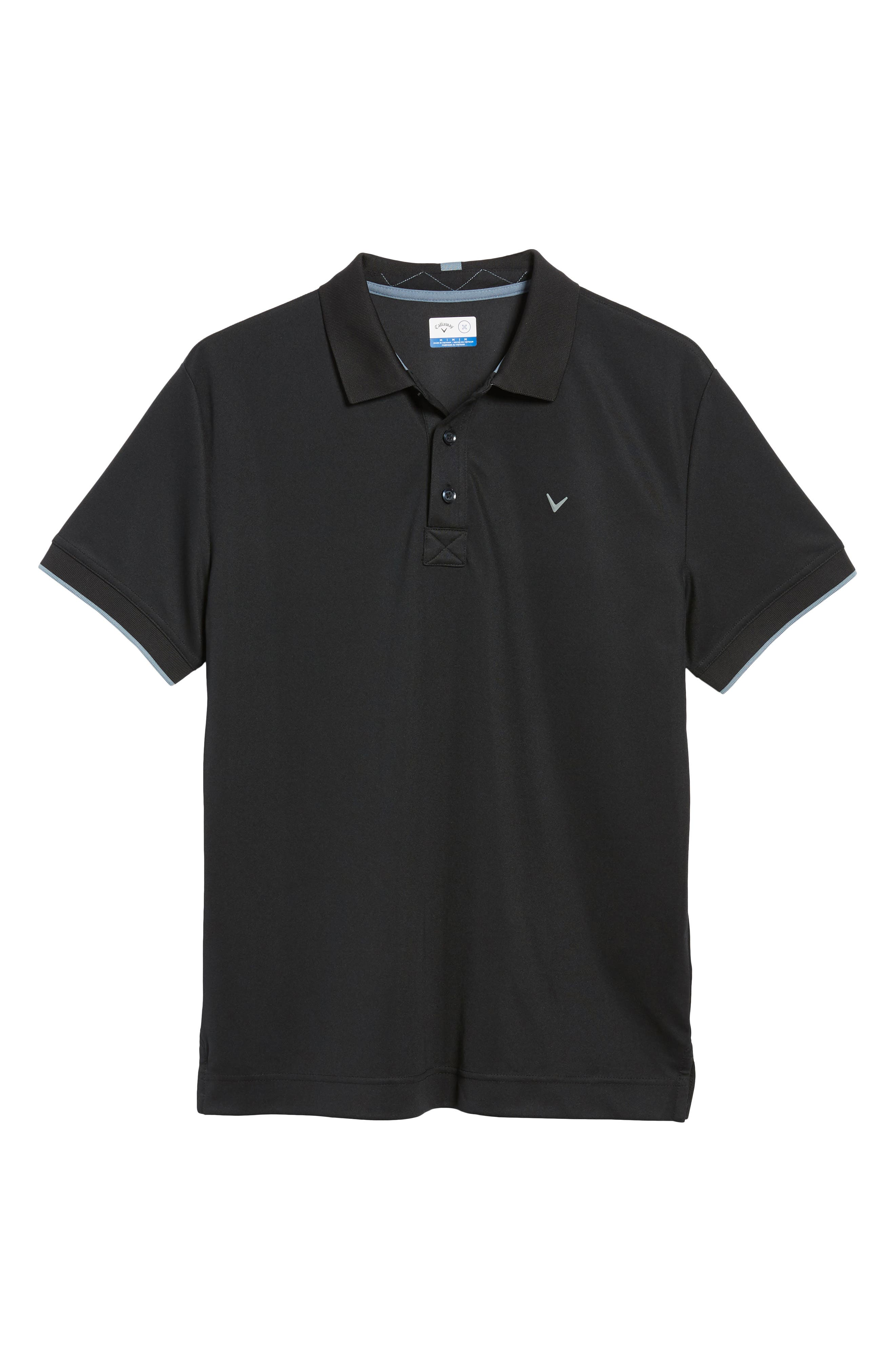 CALLAWAY X,                             Slim Fit Stretch Polo Shirt,                             Alternate thumbnail 2, color,                             002