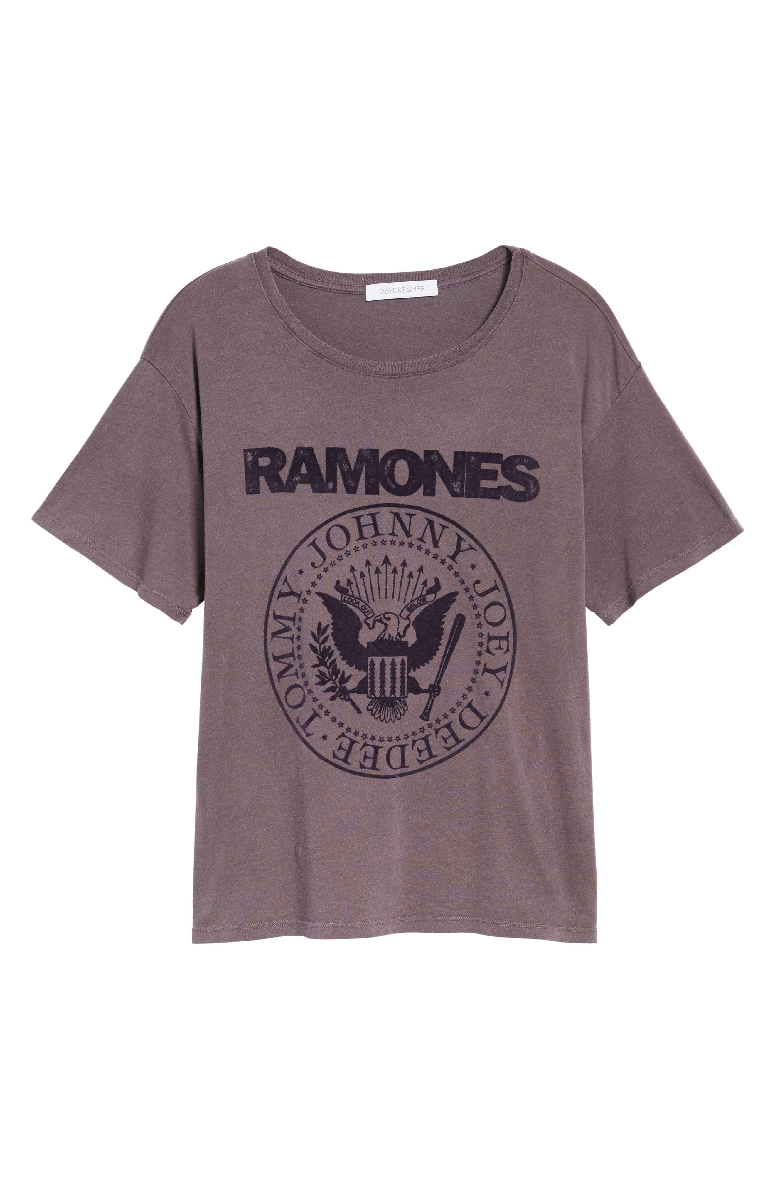 Ramones Tee,                             Alternate thumbnail 6, color,