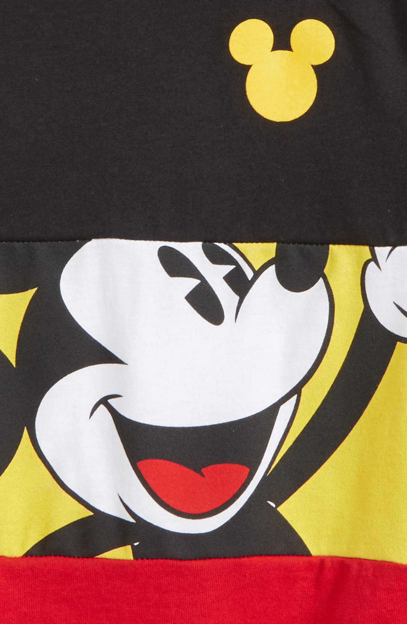 Mickey in the Middle T-Shirt,                             Alternate thumbnail 2, color,                             004