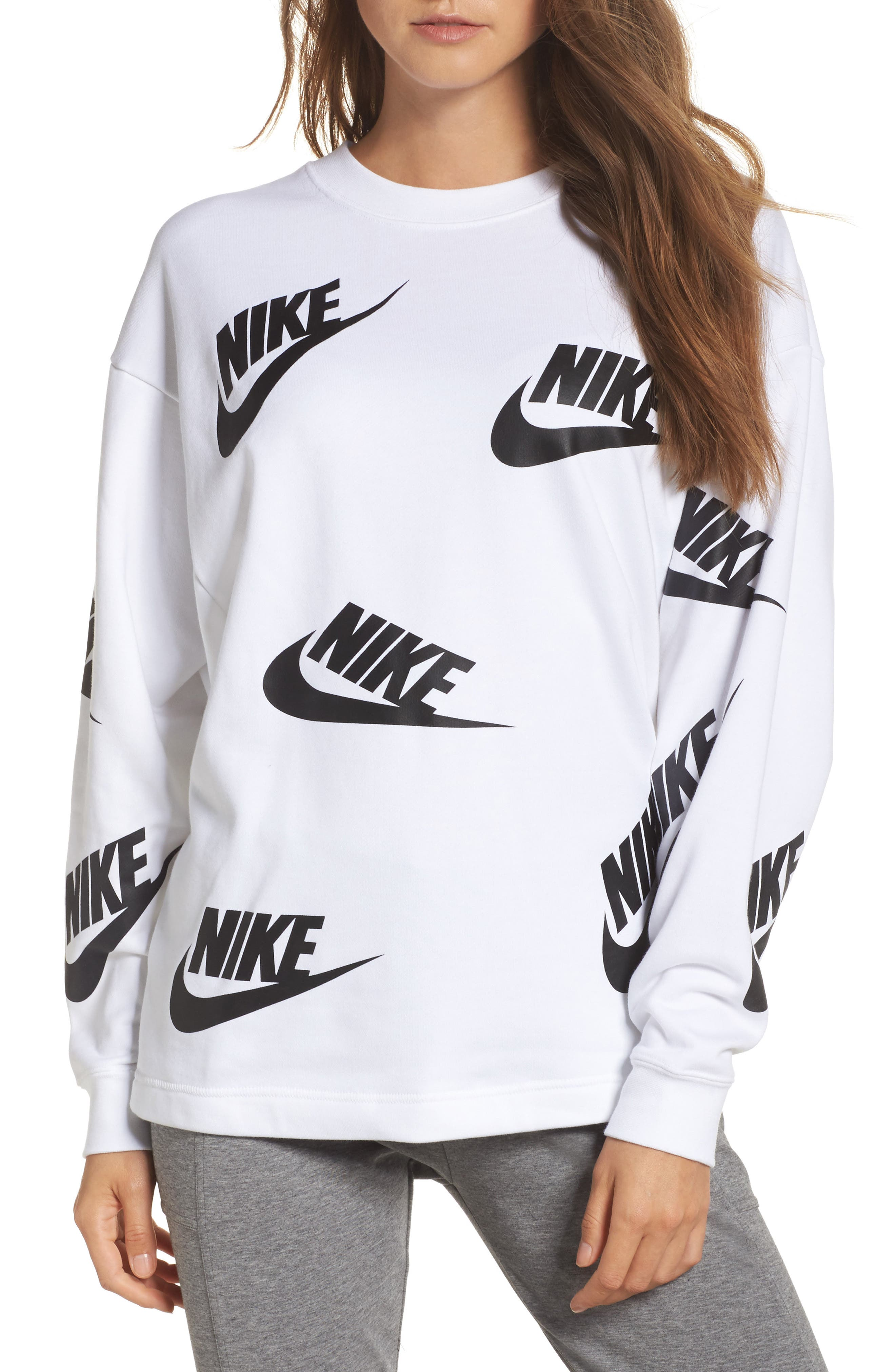 Sportswear Futura Sweatshirt,                             Main thumbnail 2, color,