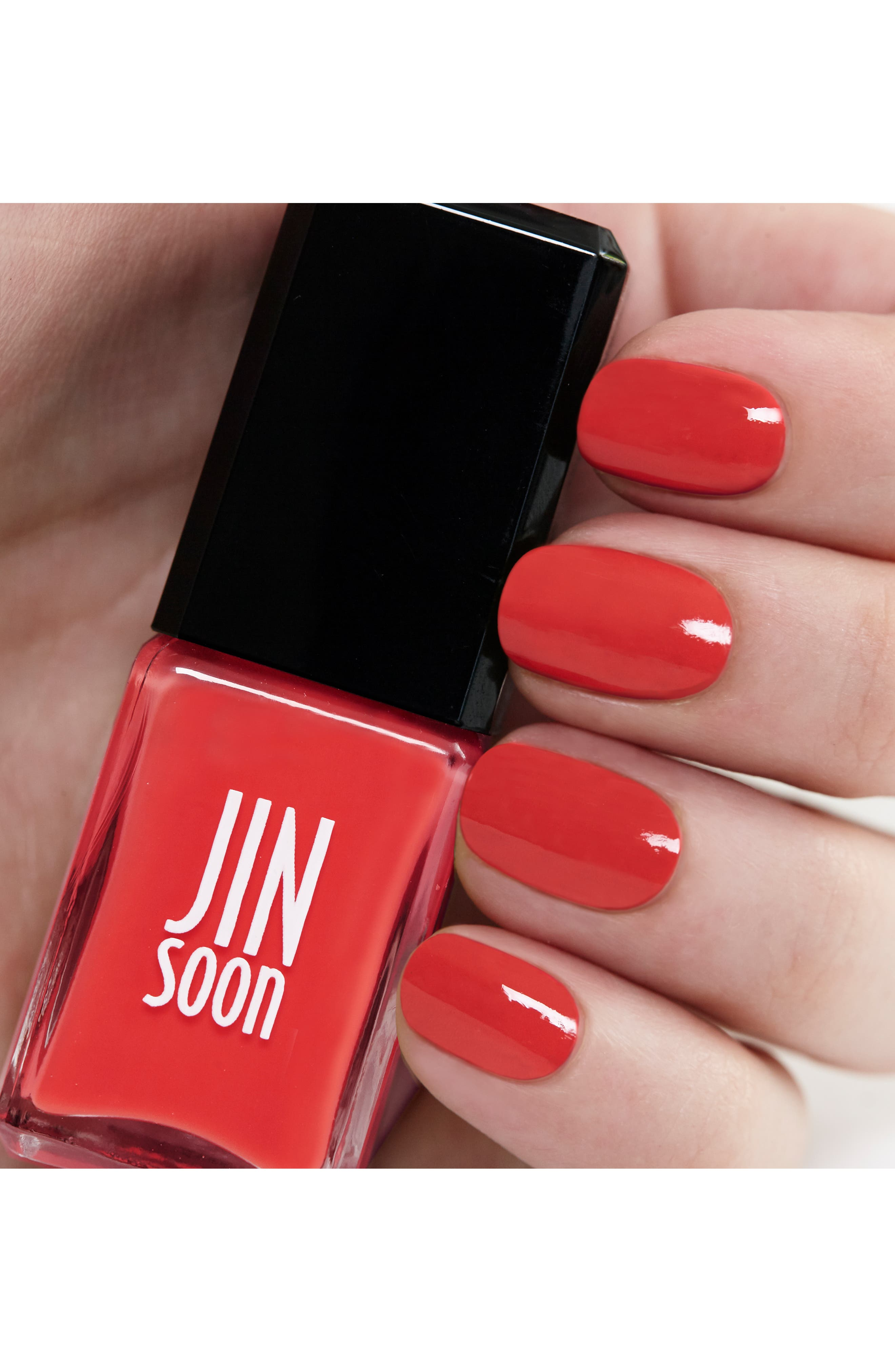 JINSOON,                             'Coral Peony' Nail Lacquer,                             Alternate thumbnail 3, color,                             950