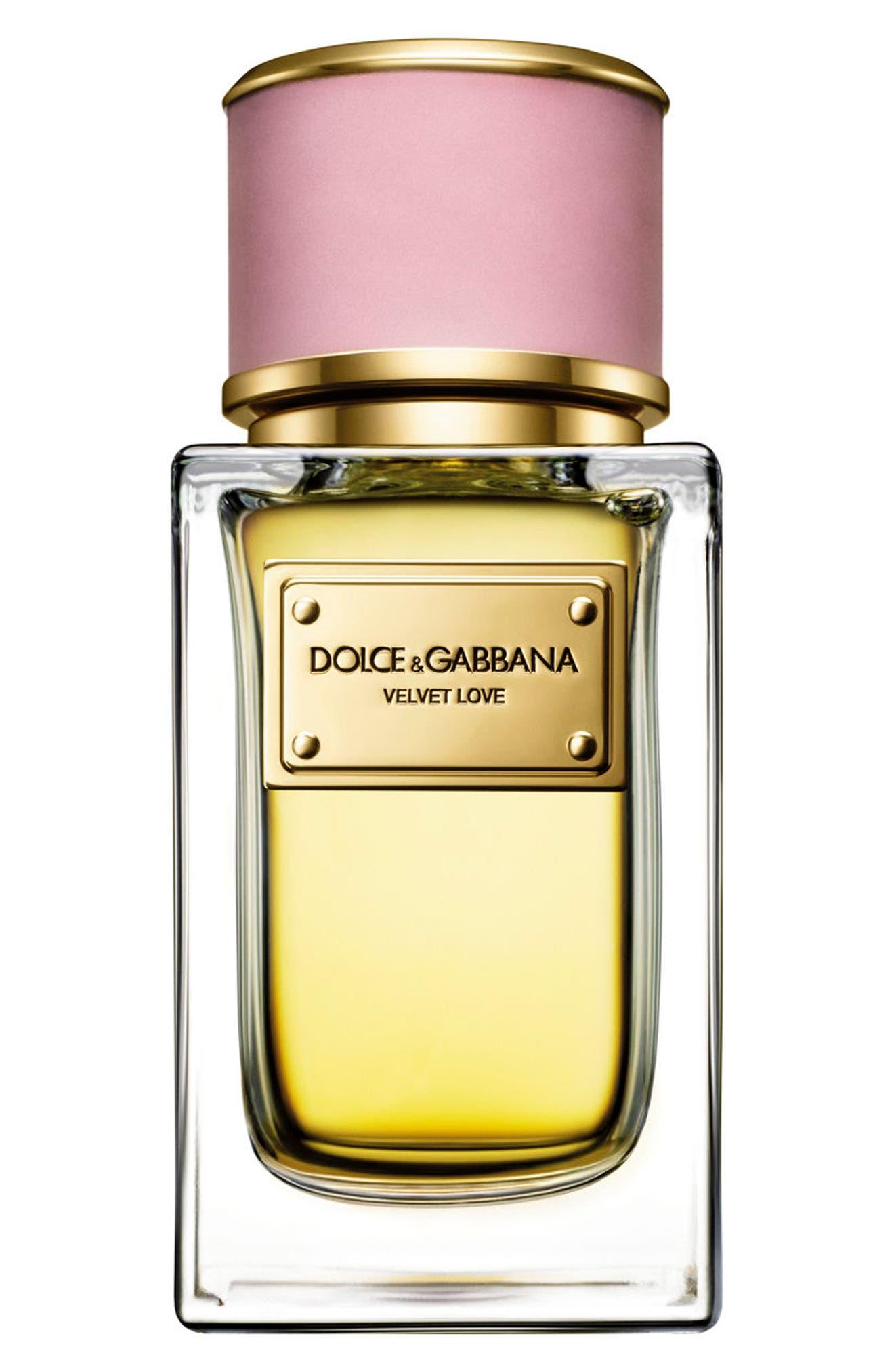 Dolce&GabbanaBeauty 'Velvet Love' Eau de Parfum,                             Alternate thumbnail 2, color,                             NO COLOR