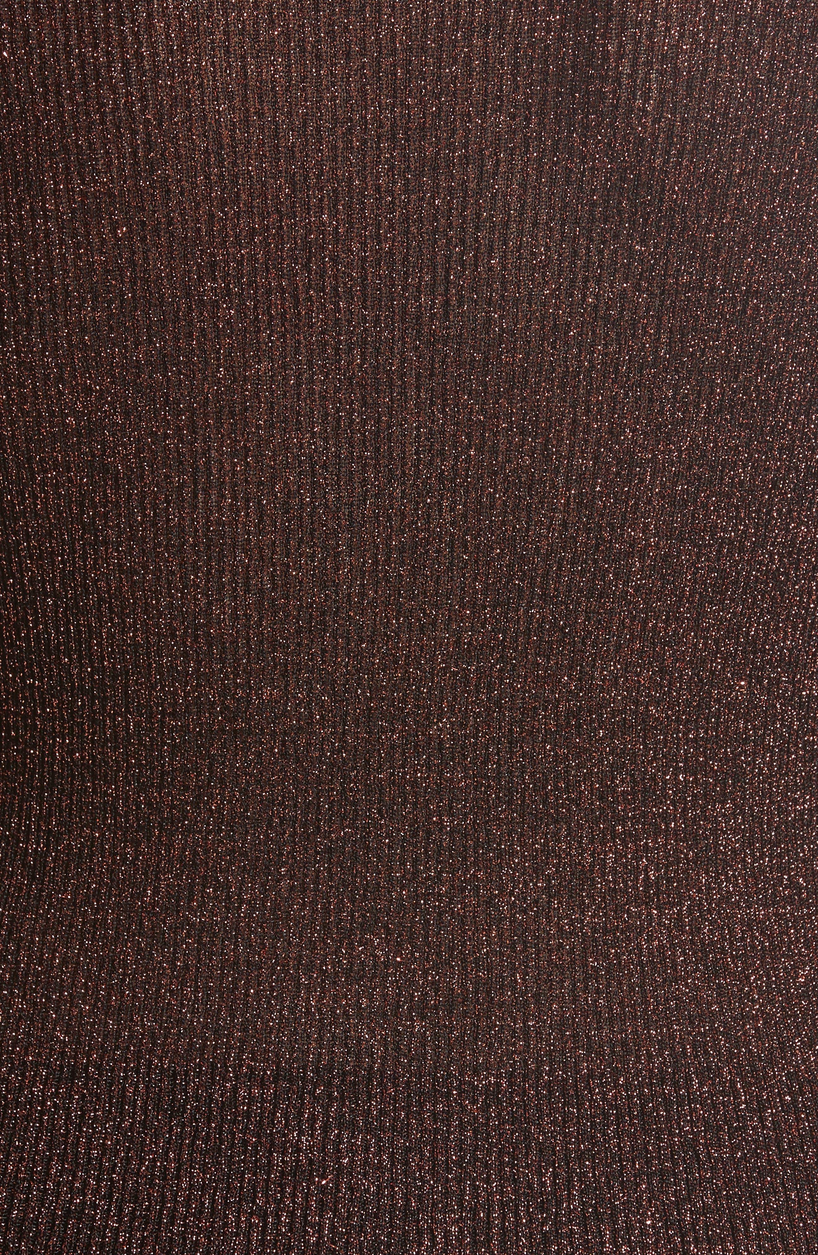 Metallic Knit Turtleneck,                             Alternate thumbnail 5, color,                             220