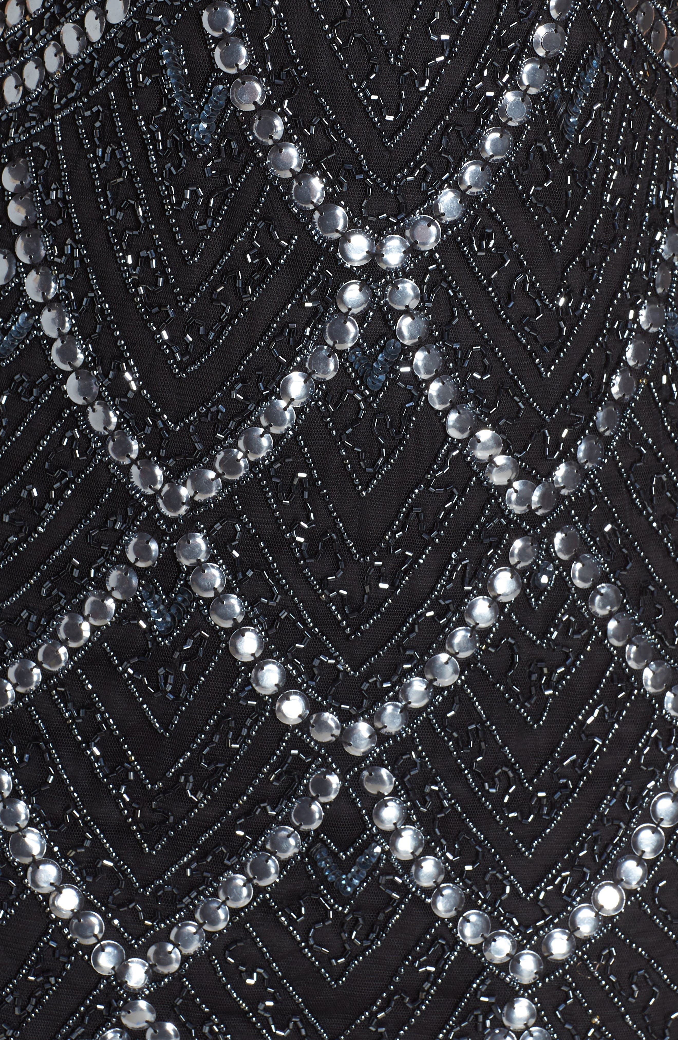 Embellished Sheath,                             Alternate thumbnail 6, color,                             BLACK