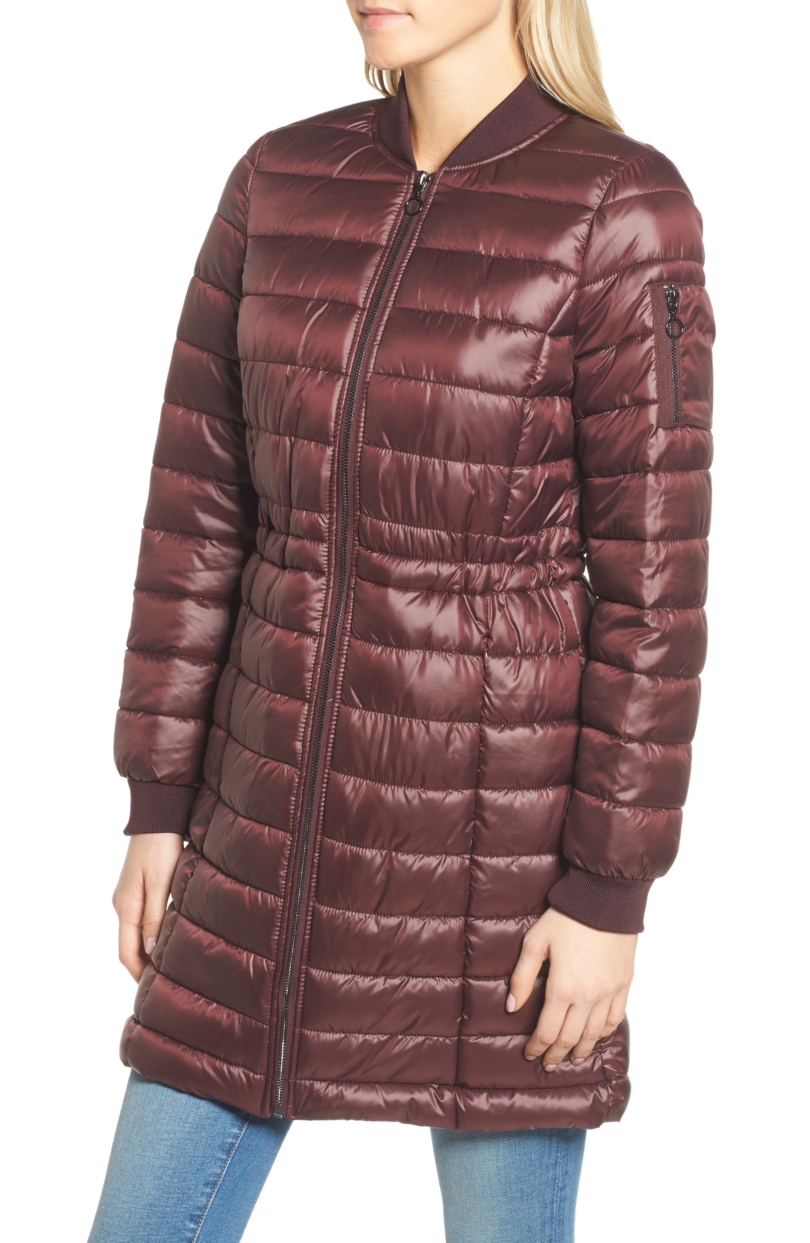 Lightweight Quilted Puffer Coat,                             Alternate thumbnail 16, color,