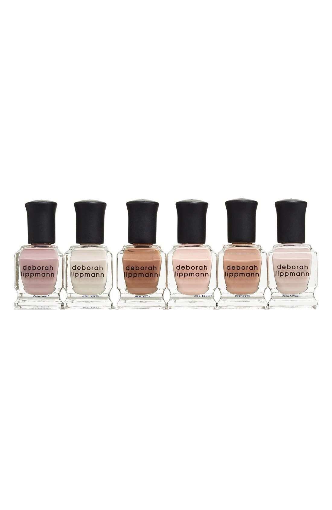 'Undressed' Nail Polish Set,                             Alternate thumbnail 4, color,                             250