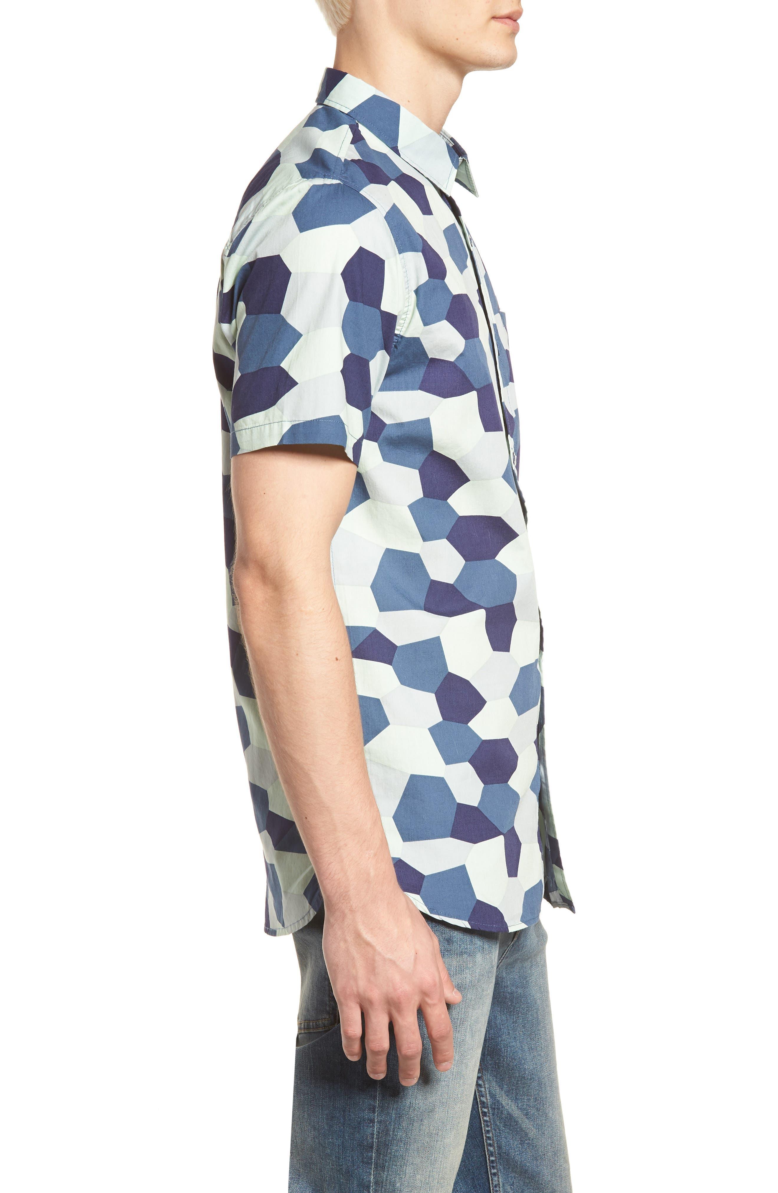 Porter Woven Shirt,                             Alternate thumbnail 16, color,