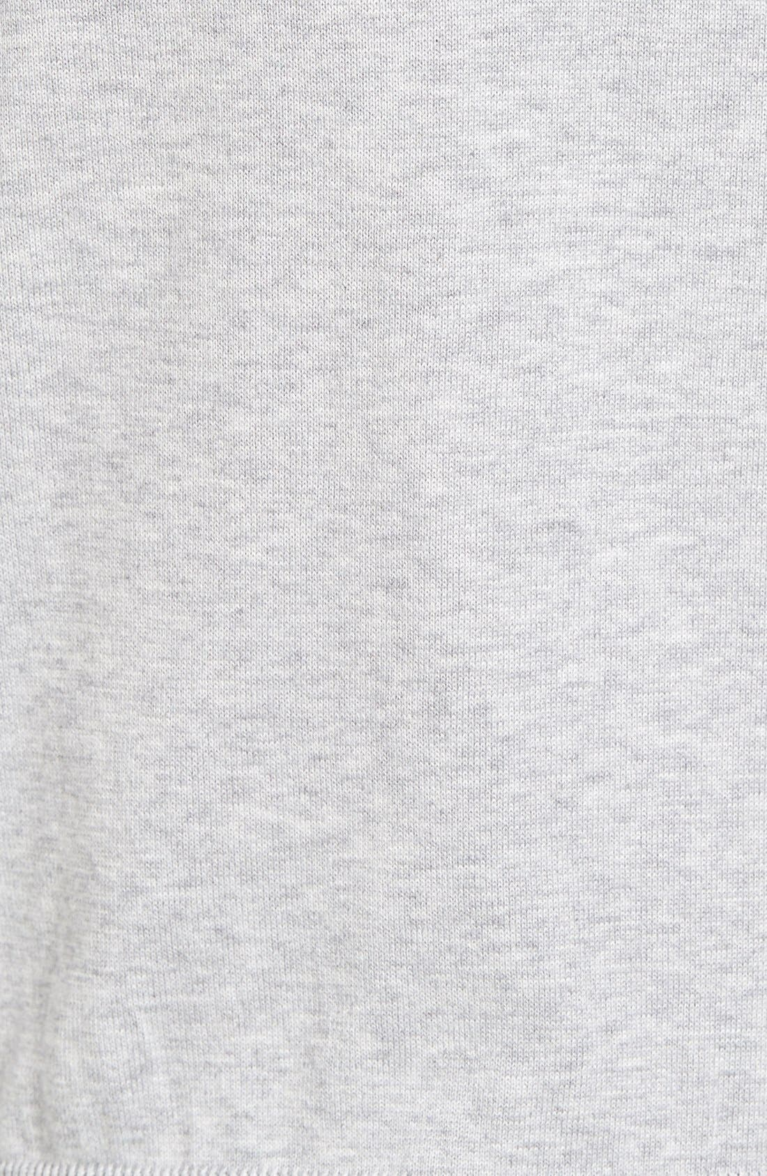 Cotton Jersey V-Neck Sweater,                             Alternate thumbnail 28, color,