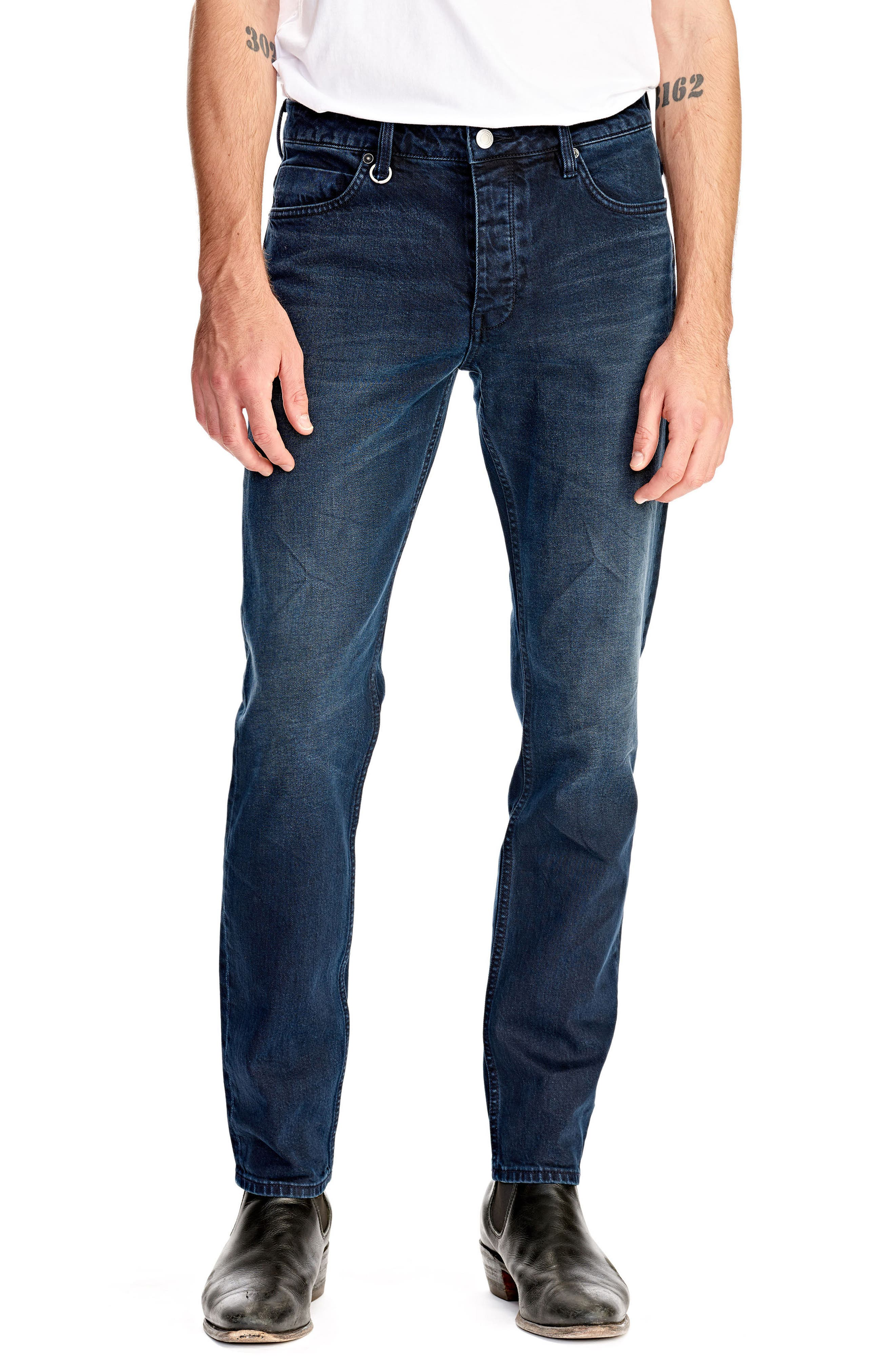 NEUW Lou Slim Fit Jeans, Main, color, ZYDECO