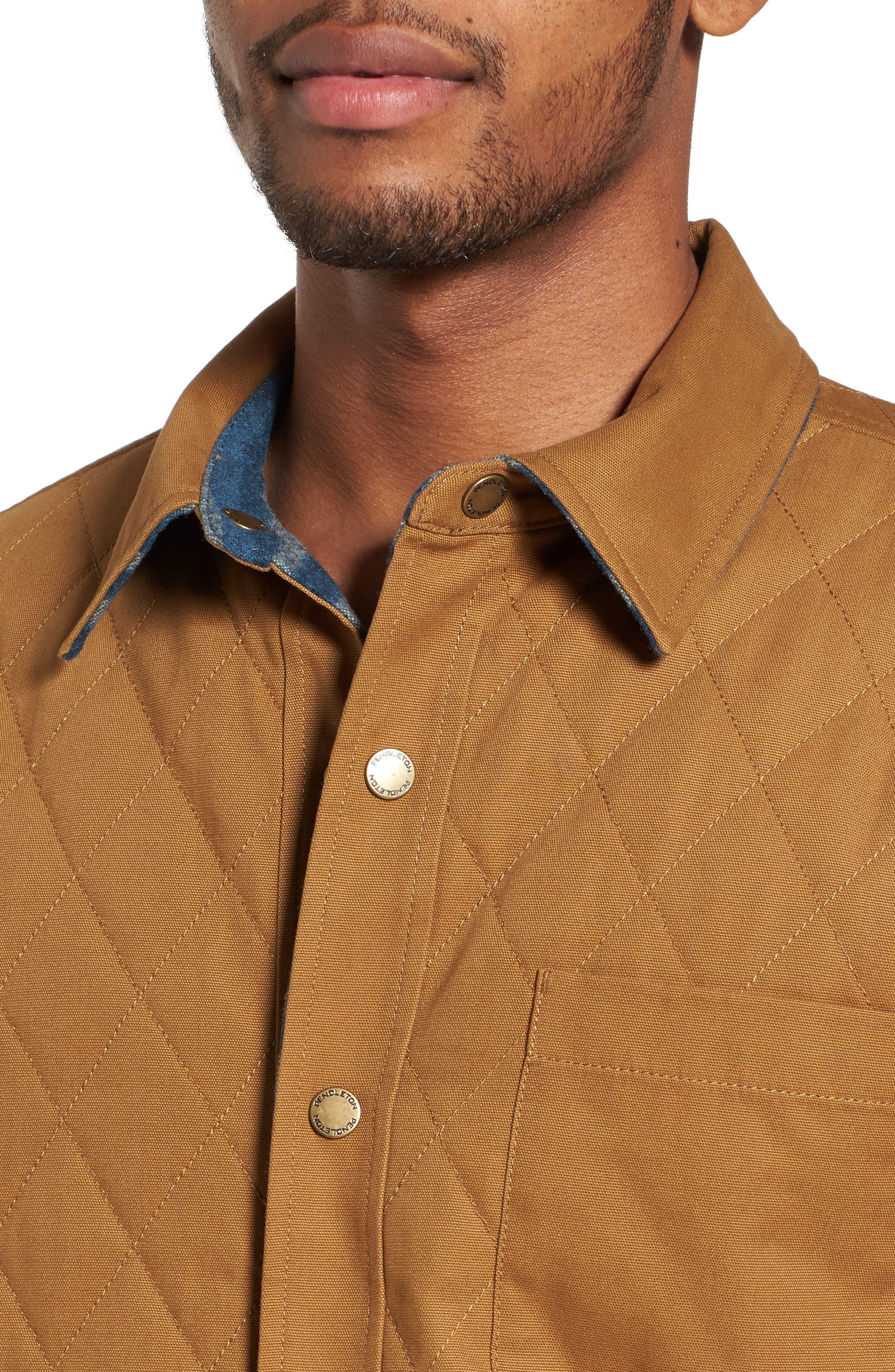 Reversible Canvas Jacket,                             Alternate thumbnail 5, color,