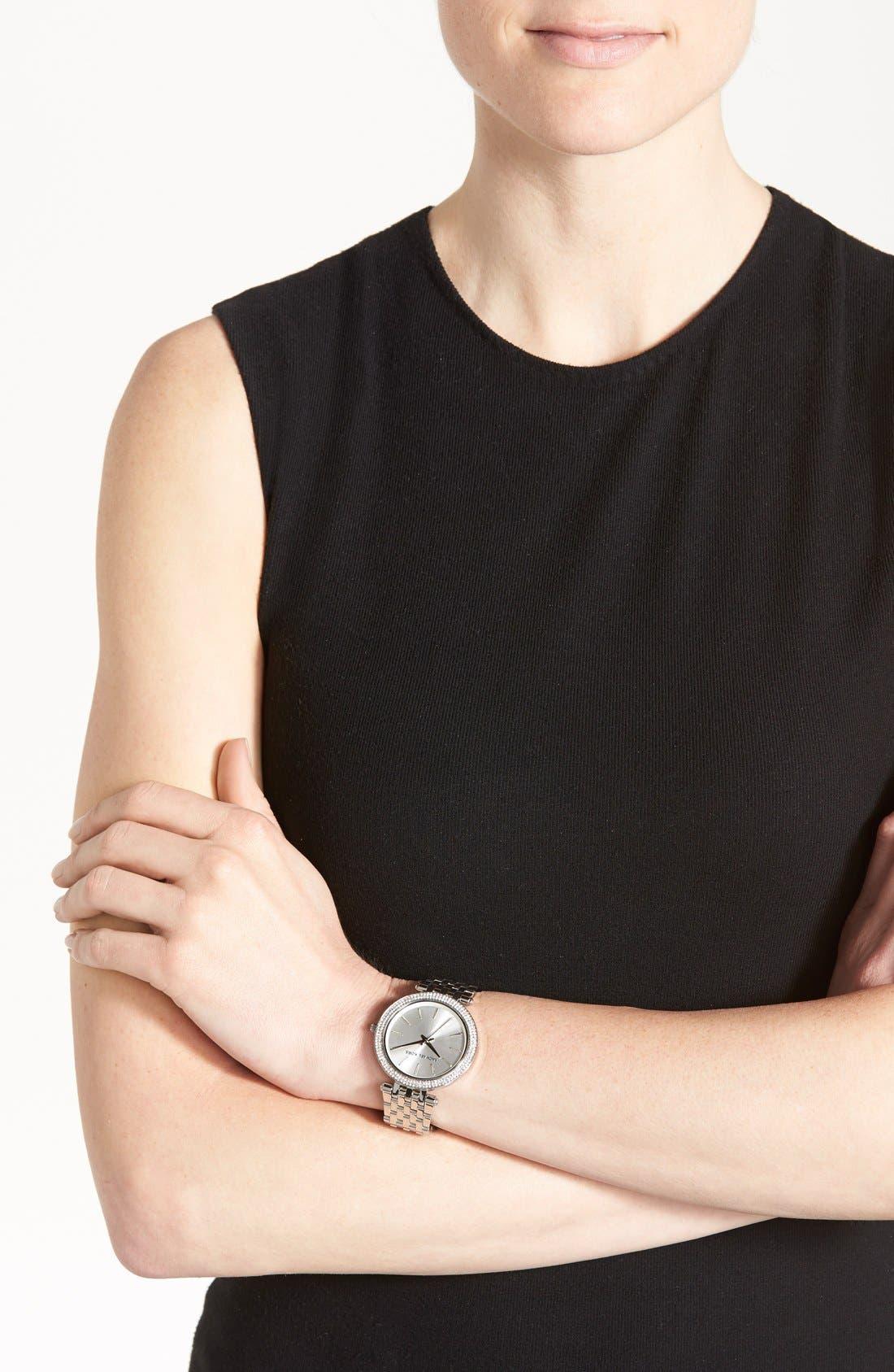 'Darci' Round Bracelet Watch, 39mm,                             Alternate thumbnail 23, color,