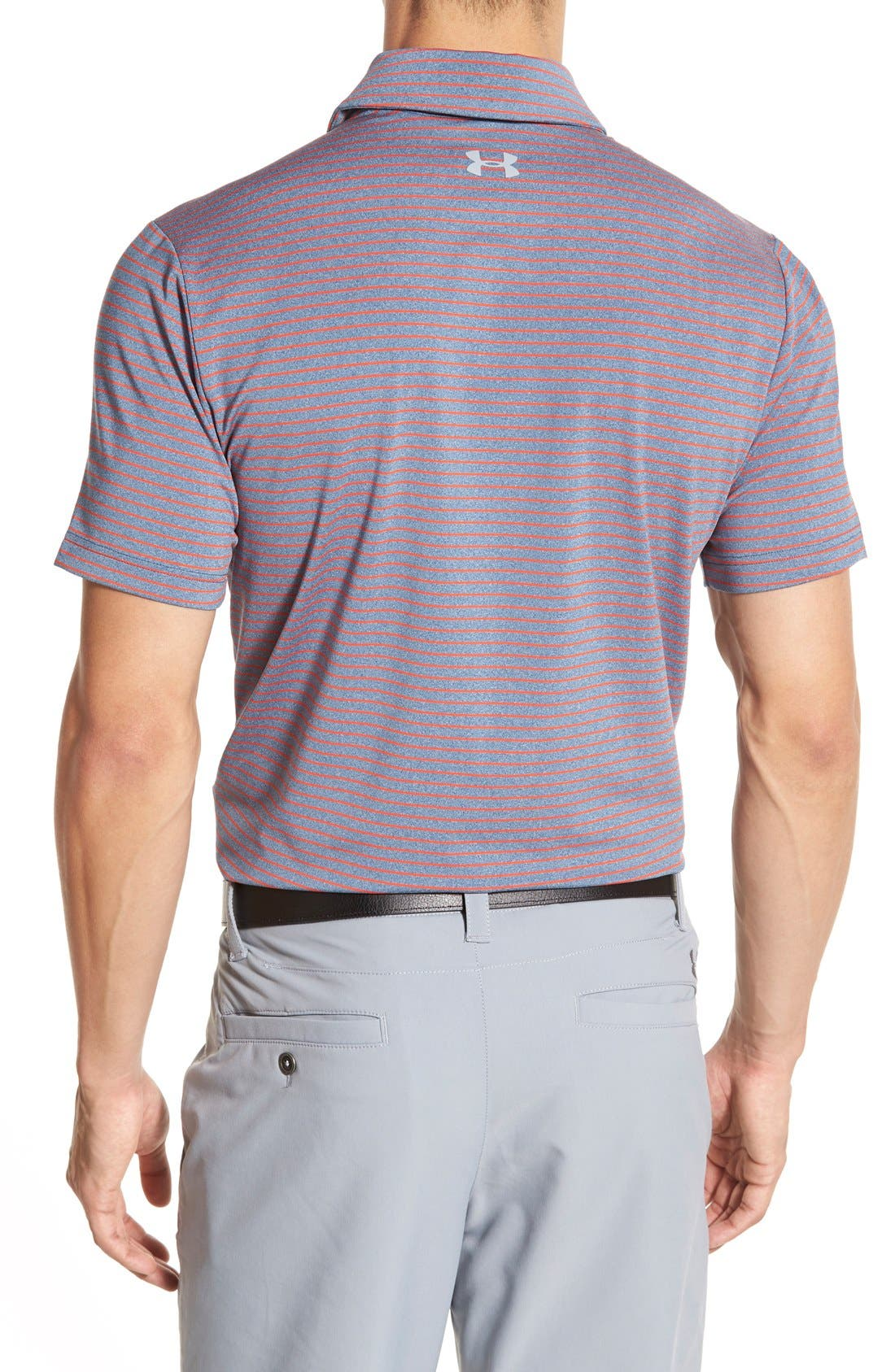 'Playoff' Loose Fit Short Sleeve Polo,                             Alternate thumbnail 209, color,