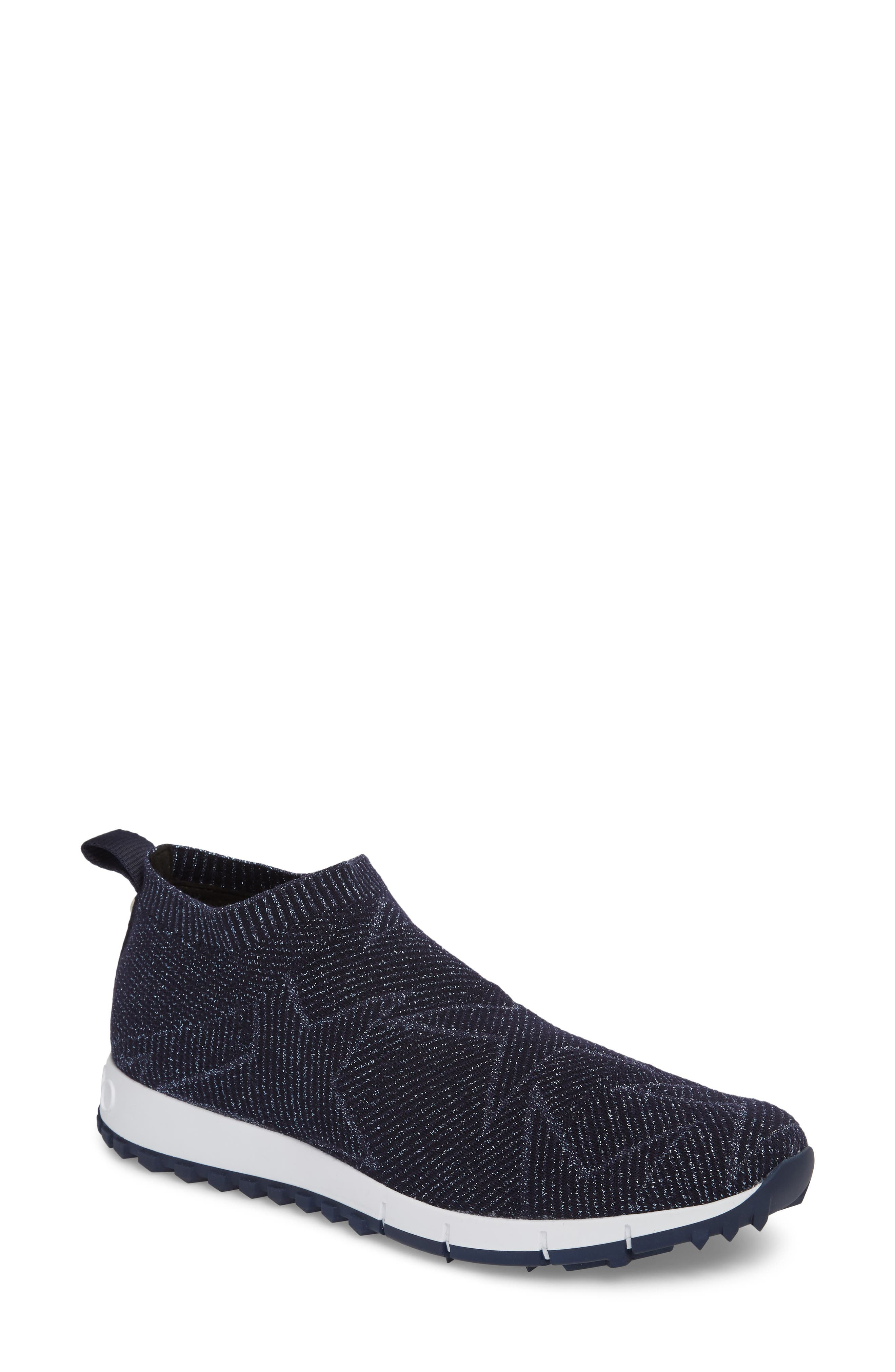 Norway Star Slip-On Sneaker,                             Main thumbnail 1, color,                             NAVY