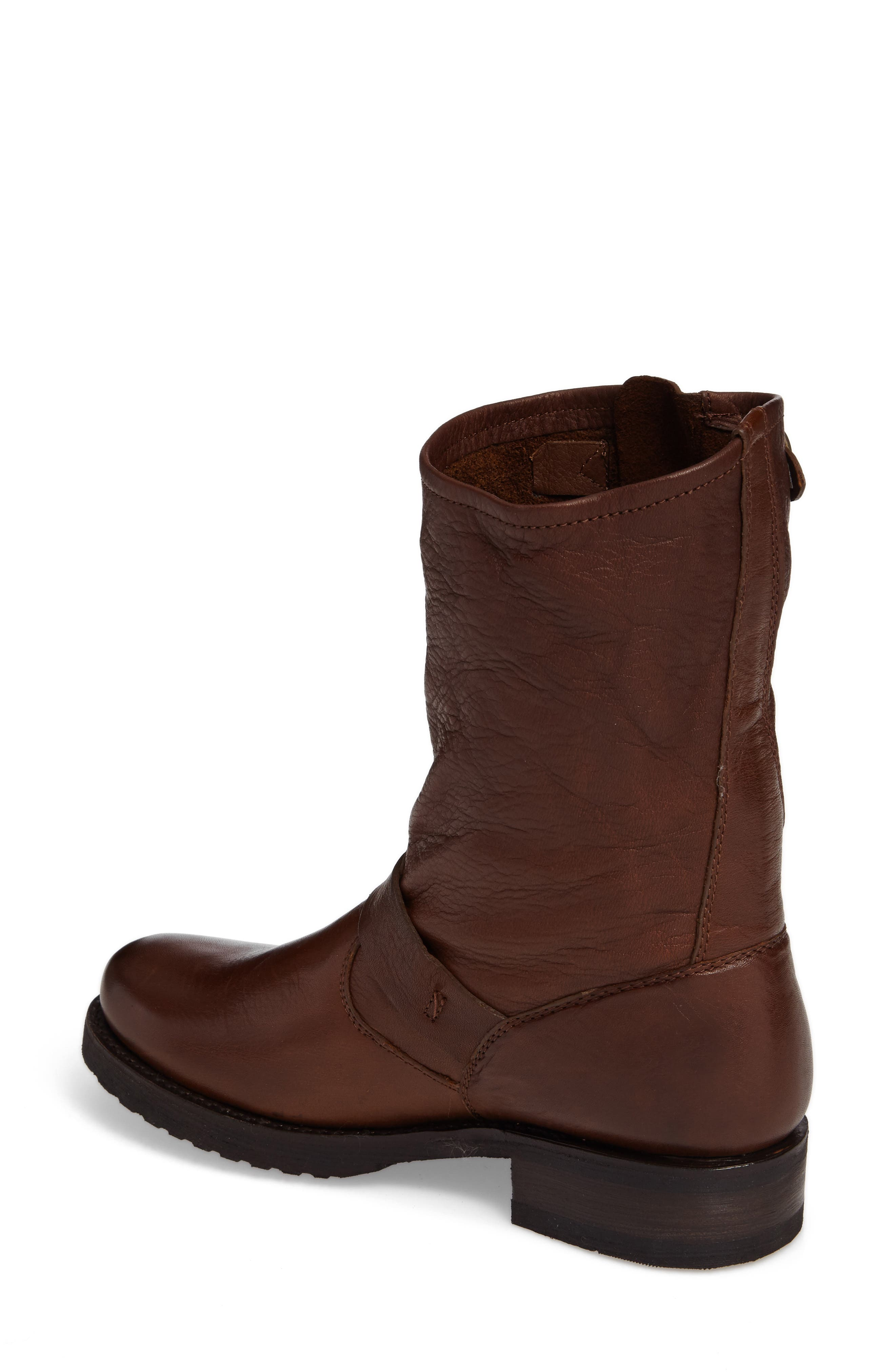 'Veronica Short' Slouchy Boot,                             Alternate thumbnail 15, color,