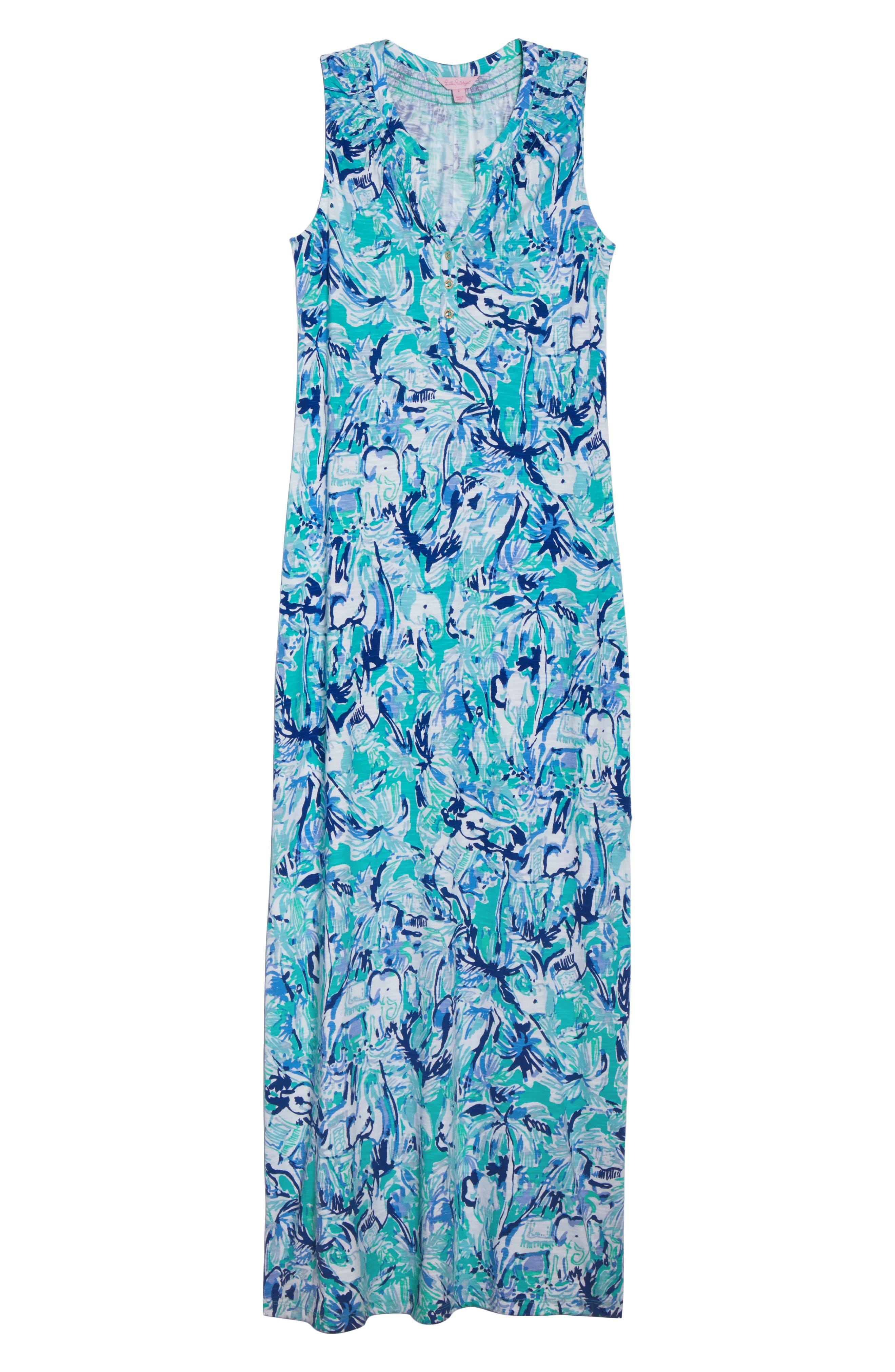 Essie Maxi Dress,                             Alternate thumbnail 7, color,                             421