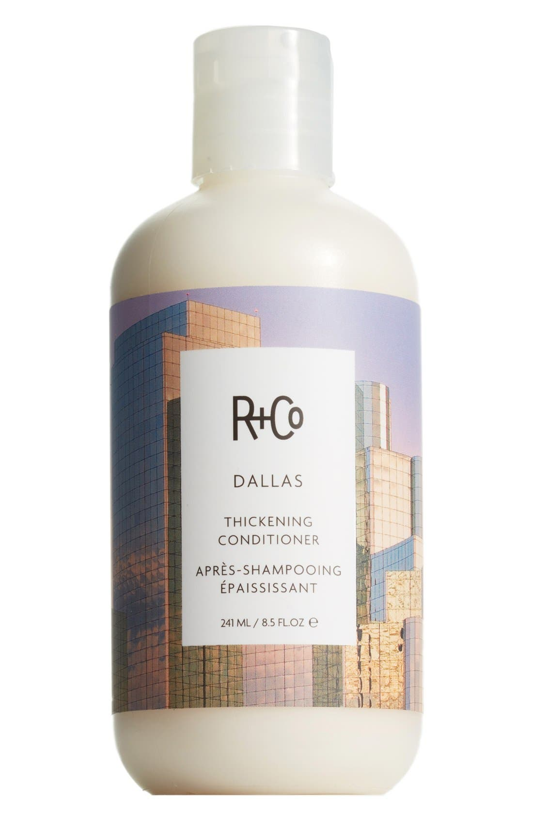 SPACE.NK.apothecary R+Co Dallas Thickening Conditioner,                             Main thumbnail 1, color,                             NO COLOR