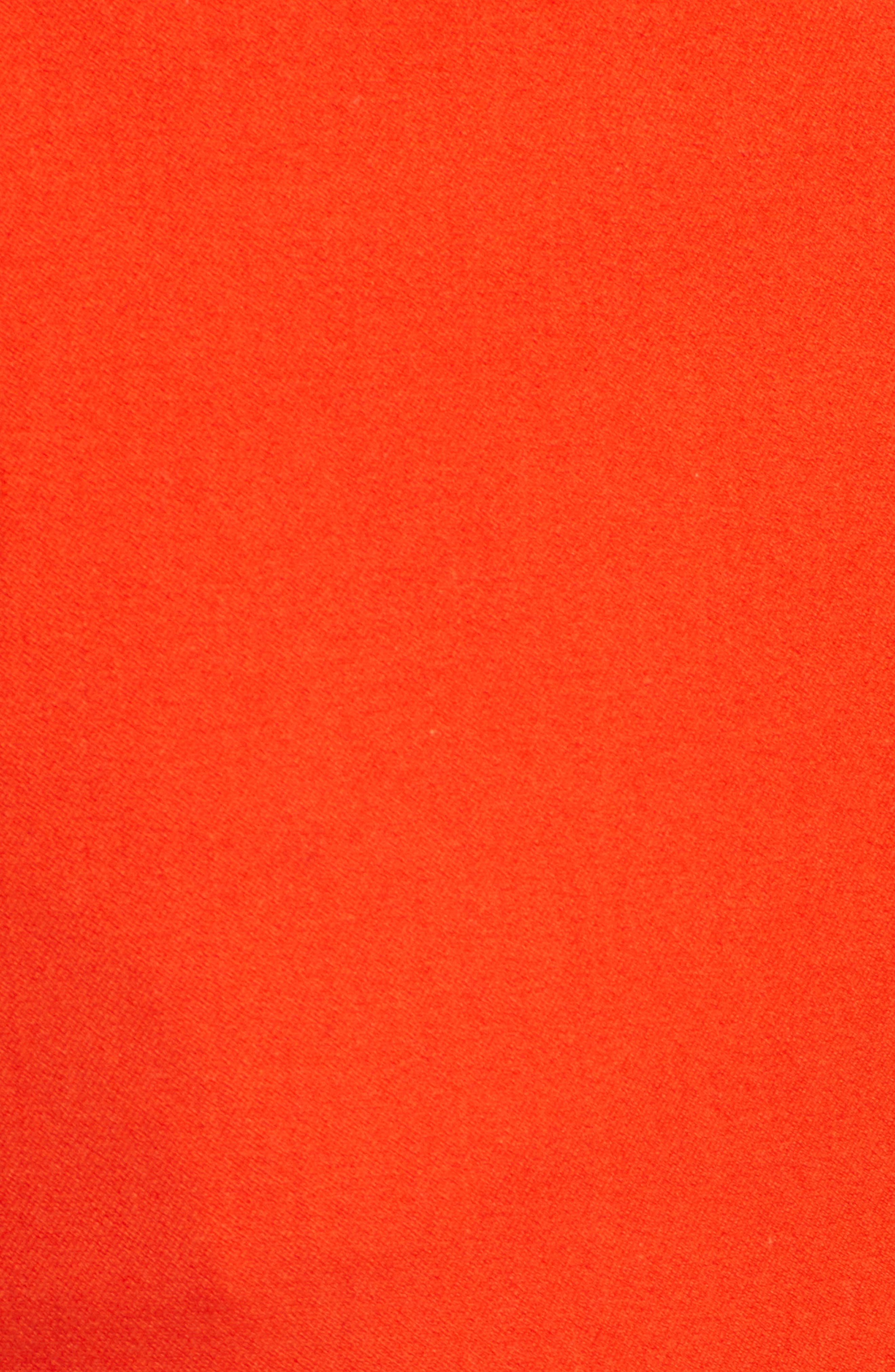 Crop Stretch Cotton Pants,                             Alternate thumbnail 90, color,