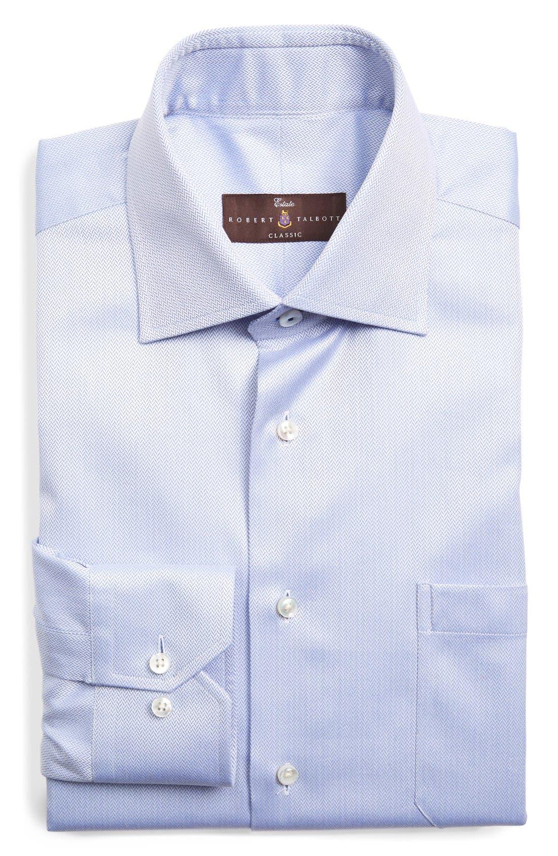 Classic Fit Dress Shirt,                         Main,                         color, 450