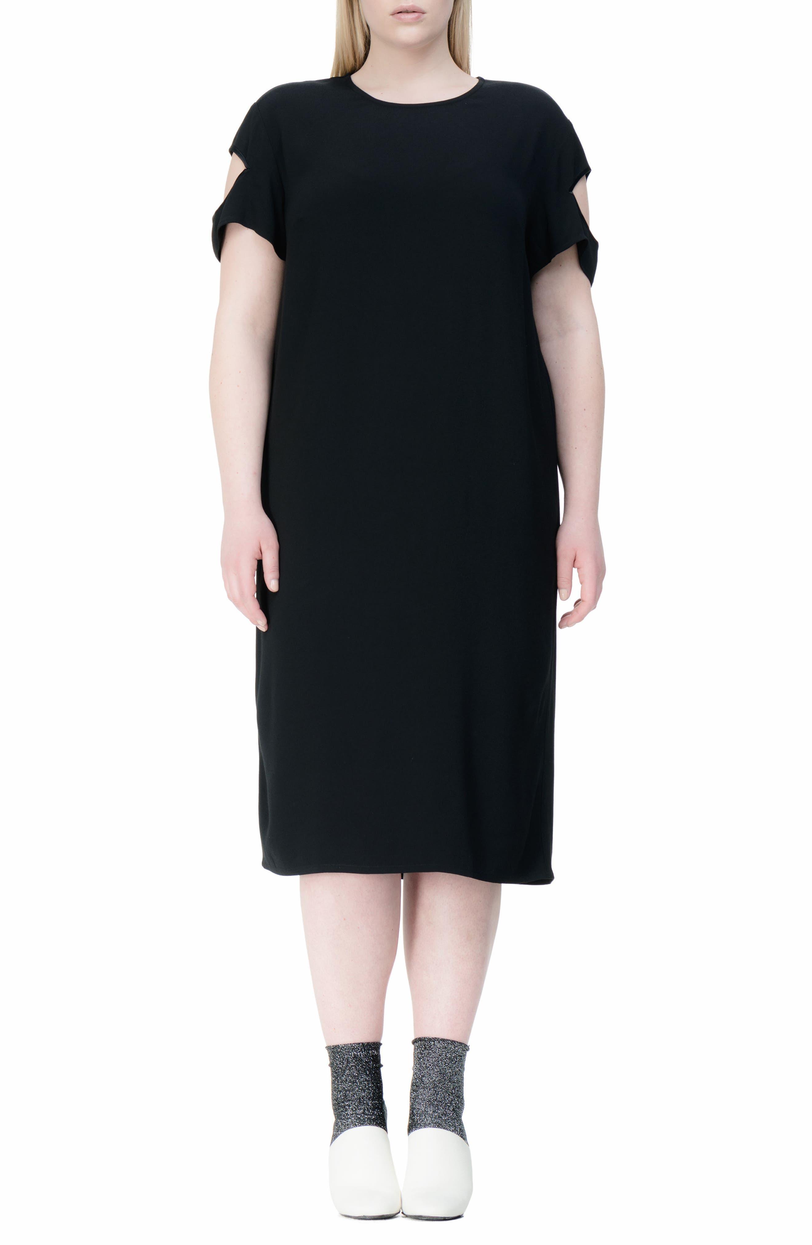 Newland Shift Dress,                             Main thumbnail 1, color,                             001