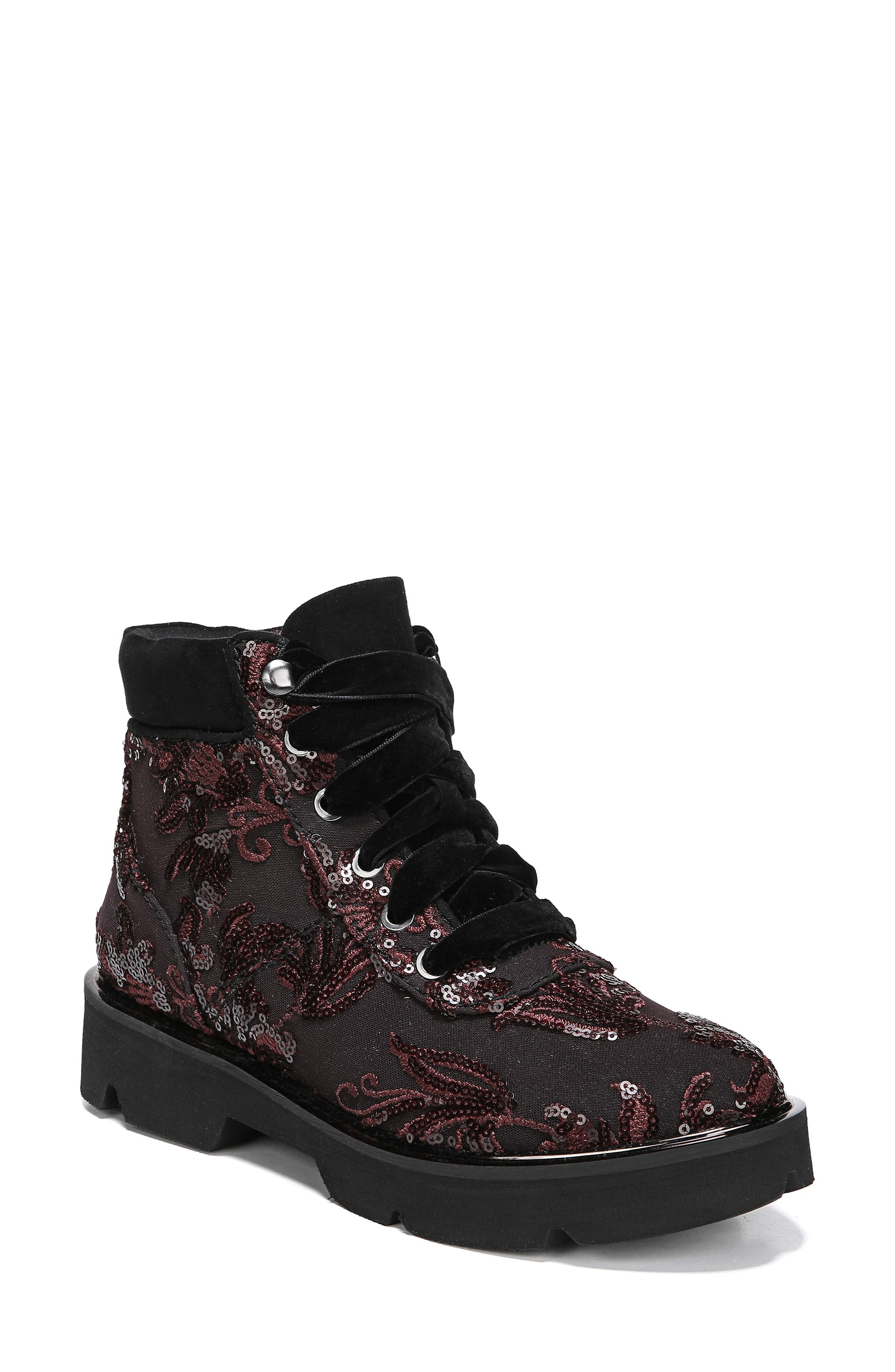 Naturalizer Lucy Hiking Boot, Burgundy