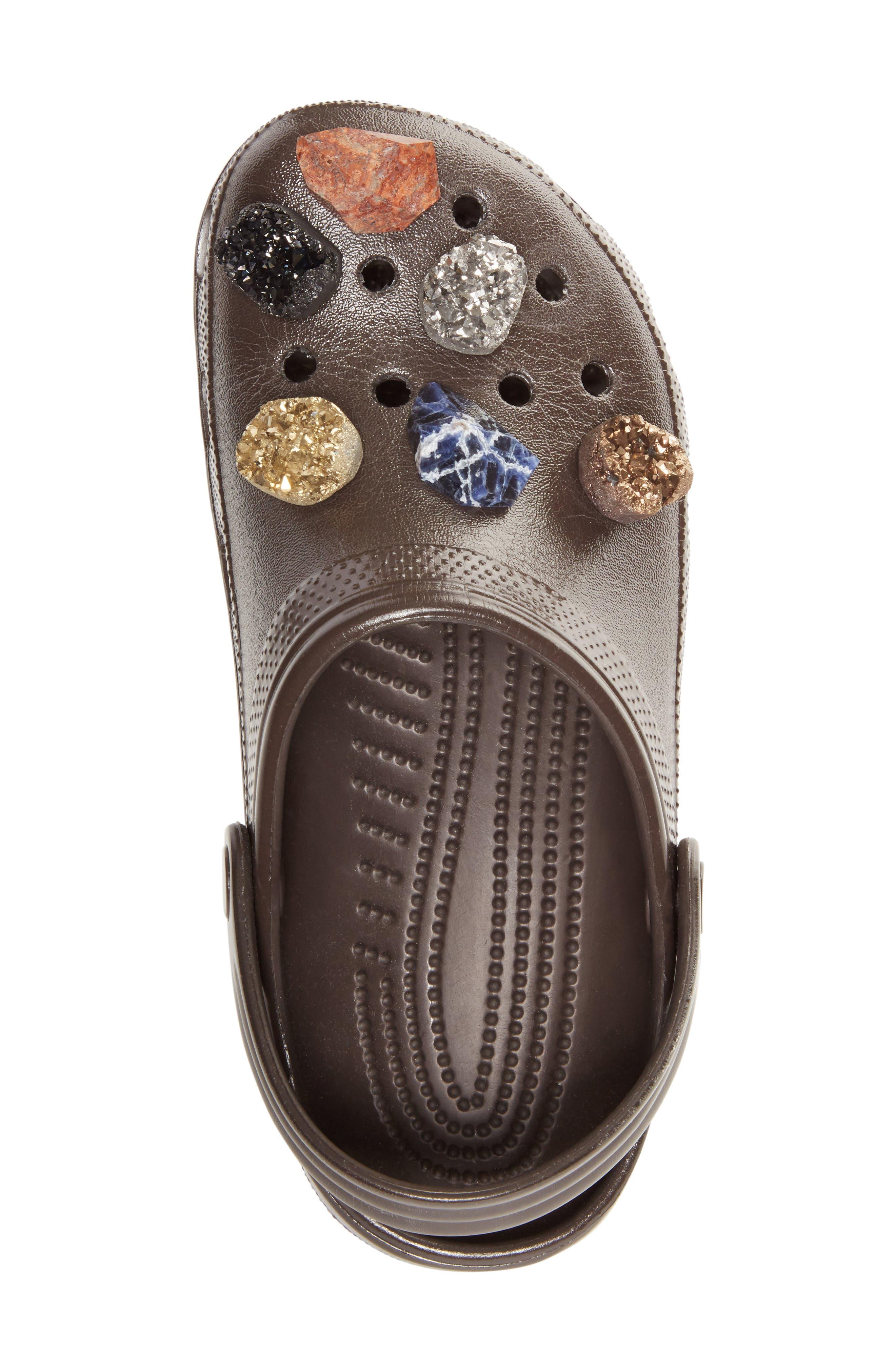 x CROCS<sup>™</sup> Multi Stone Clog Sandal,                             Alternate thumbnail 3, color,                             200