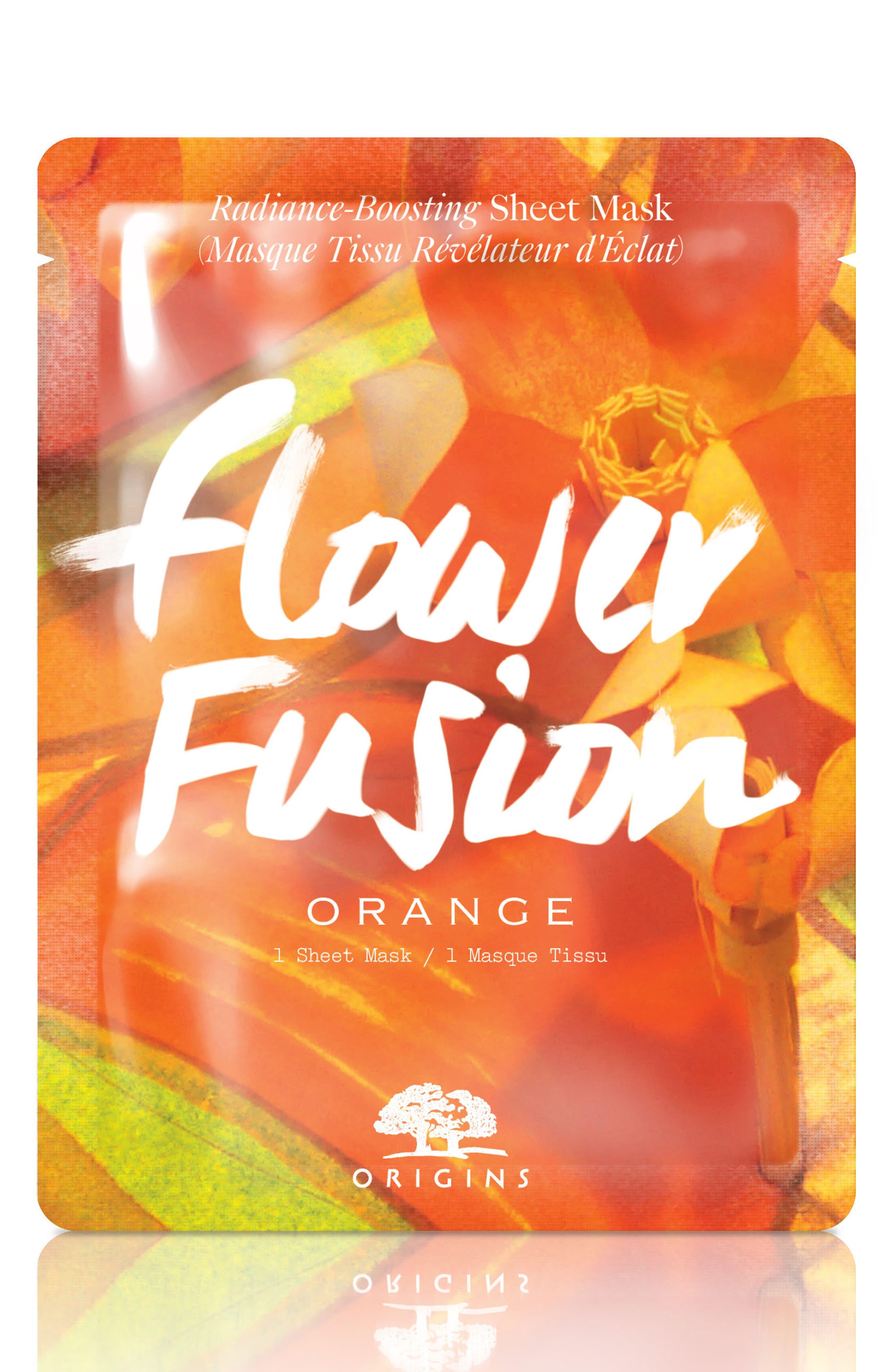 Flower Fusion Hydrating Sheet Mask,                             Main thumbnail 6, color,