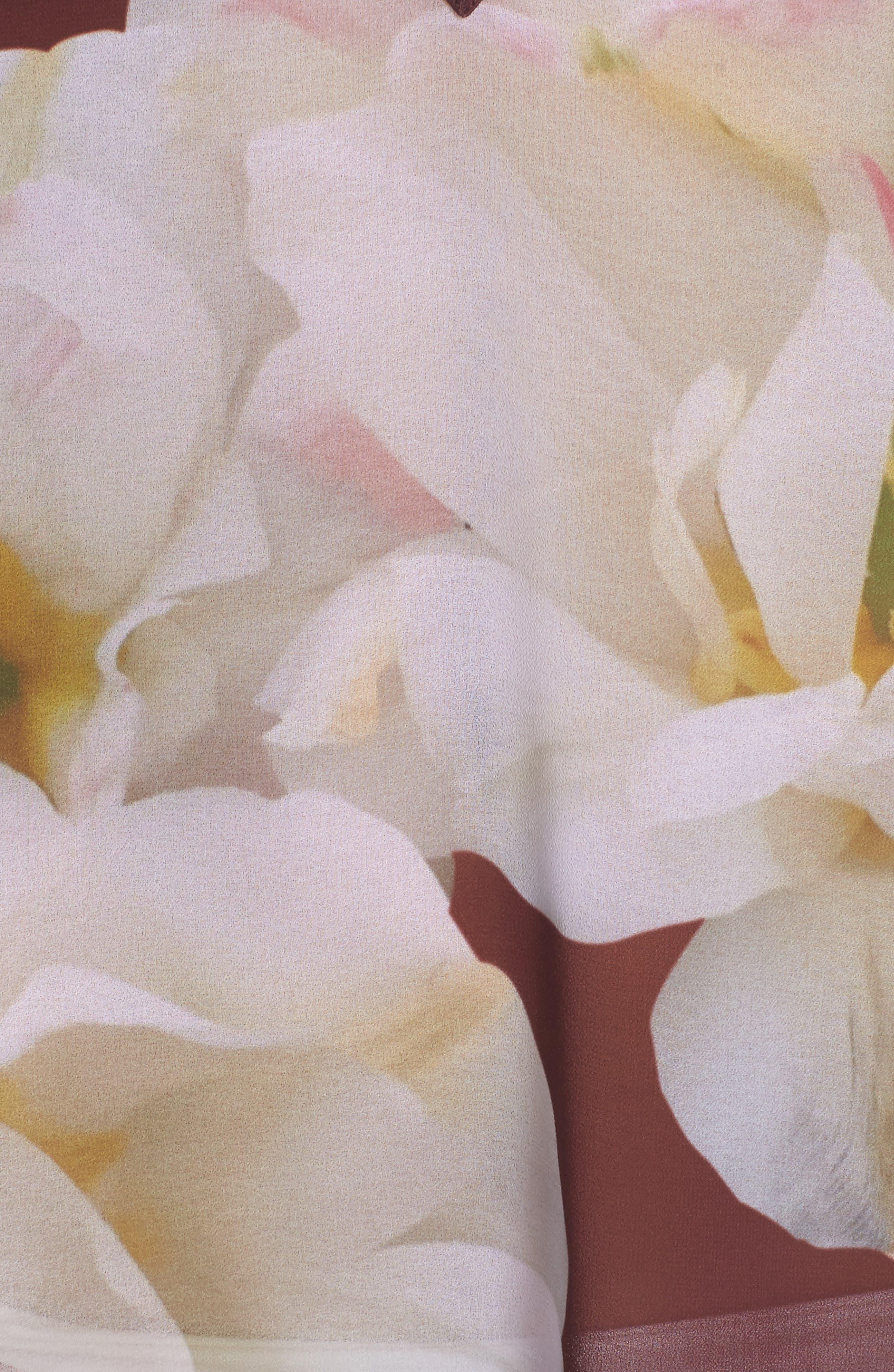 Garsa Gardenia Cover-Up Tunic,                             Alternate thumbnail 5, color,                             930
