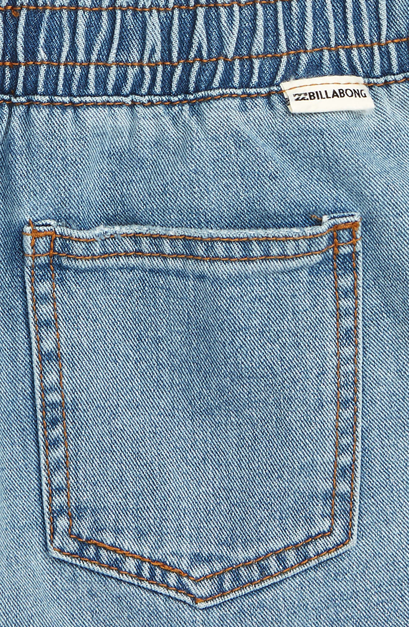 Wild Sun Cutoff Shorts,                             Alternate thumbnail 3, color,                             INDIGO