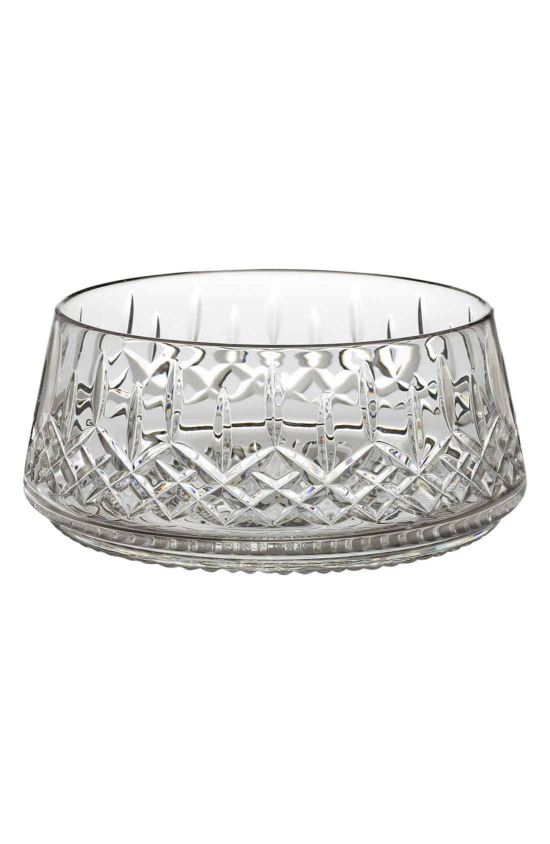 'Lismore' Lead Crystal Salad Bowl,                             Main thumbnail 1, color,                             100