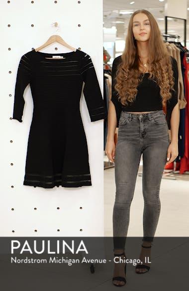 Mesh Fit & Flare Dress, sales video thumbnail