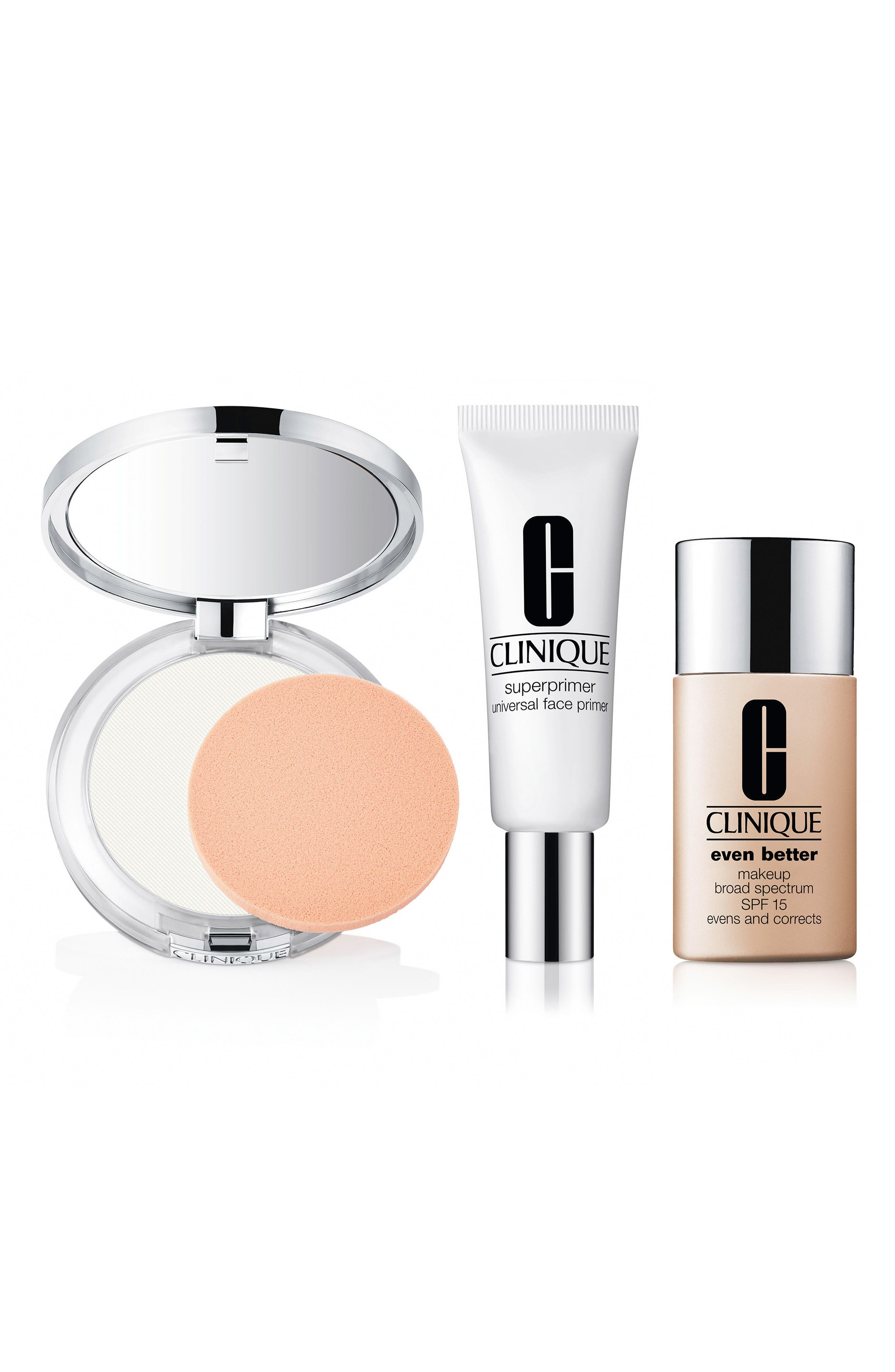 CLINIQUE,                             Flawless Foundation Even Better Makeup Kit,                             Main thumbnail 1, color,                             000
