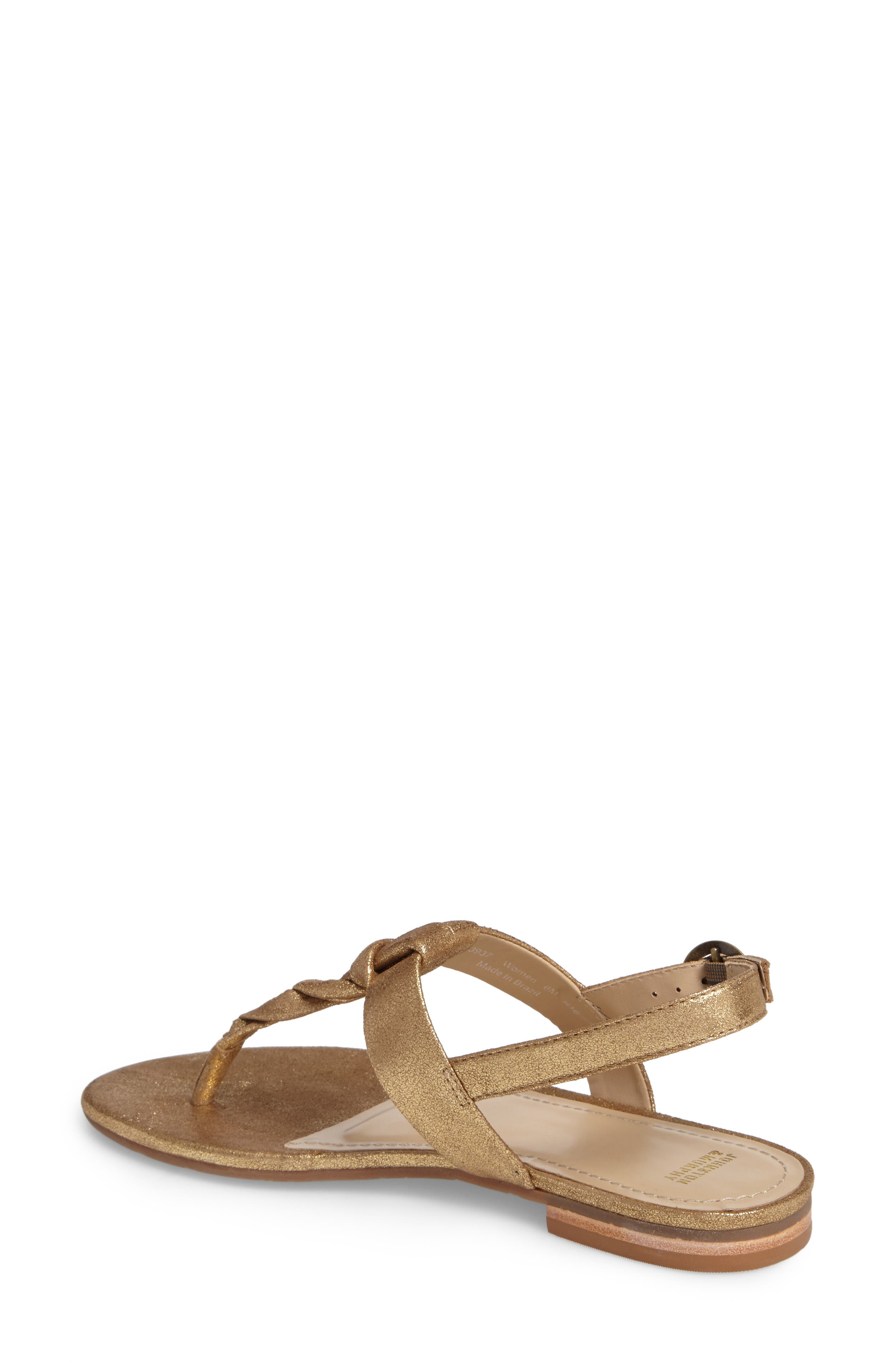 Holly Twisted T-Strap Sandal,                             Alternate thumbnail 10, color,