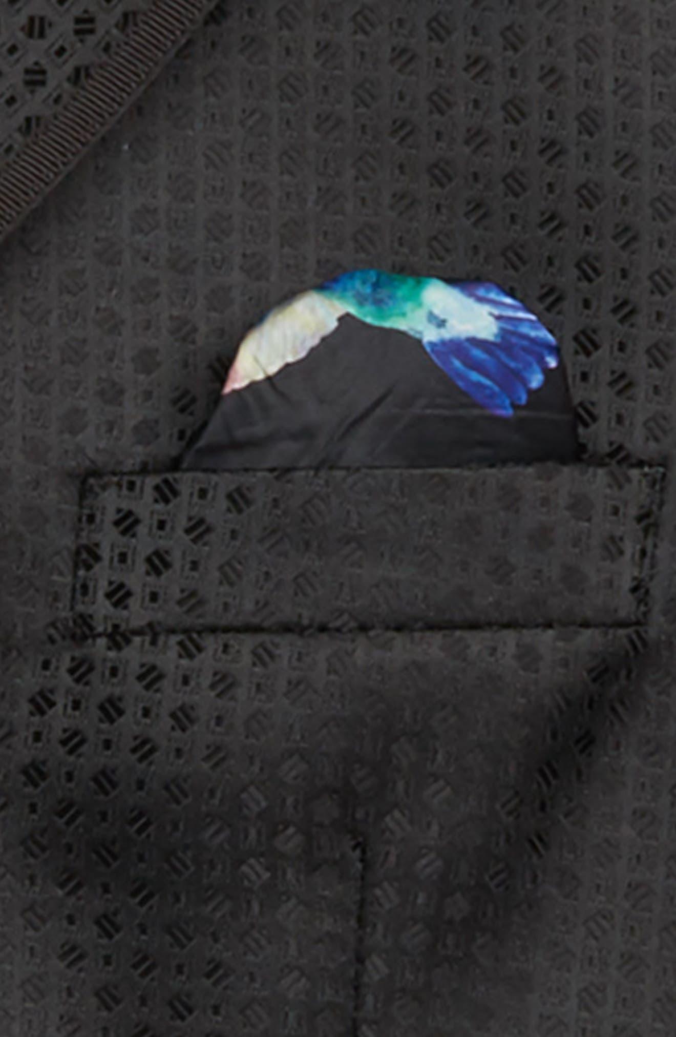 Neat Blazer,                             Alternate thumbnail 2, color,                             BLACK