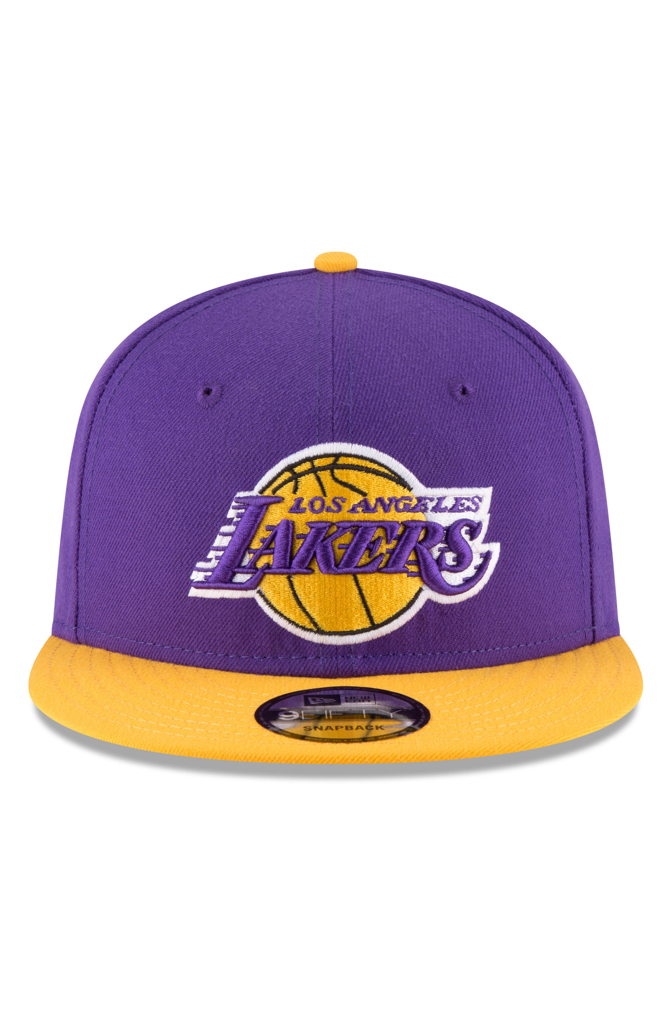 9FIFTY LA Lakers Two-Tone Cap,                             Alternate thumbnail 4, color,                             PURPLE
