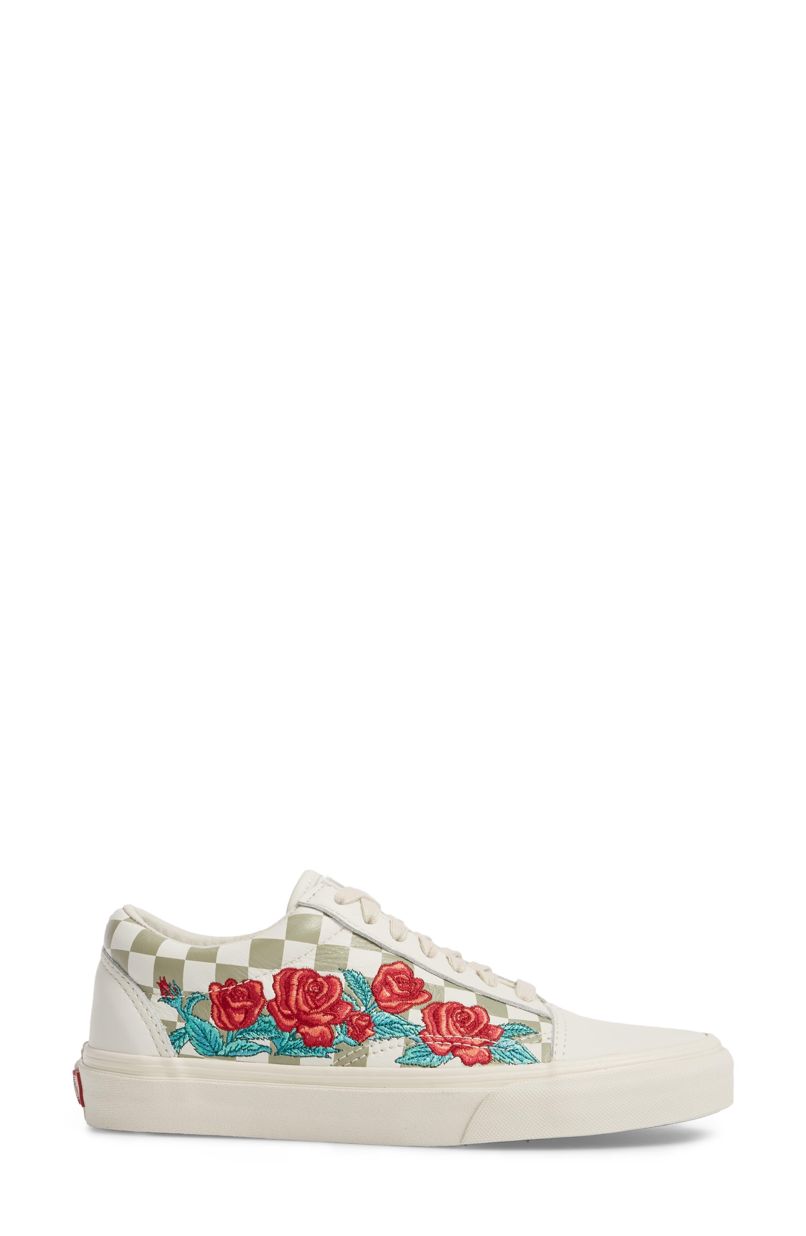 Old Skool 36 DX Sneaker,                             Alternate thumbnail 3, color,                             100
