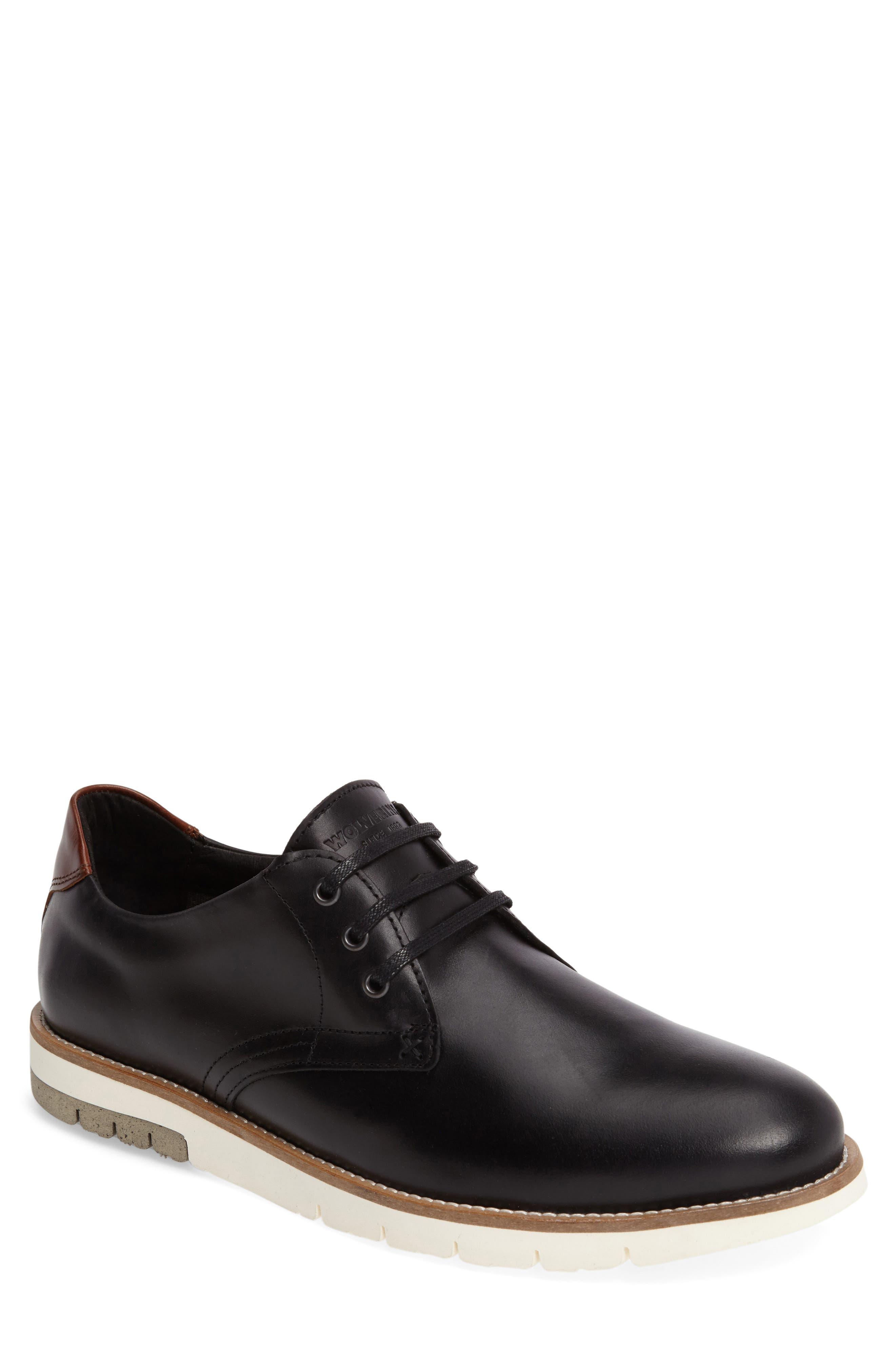 Reuben Plain Toe Derby,                         Main,                         color, 001