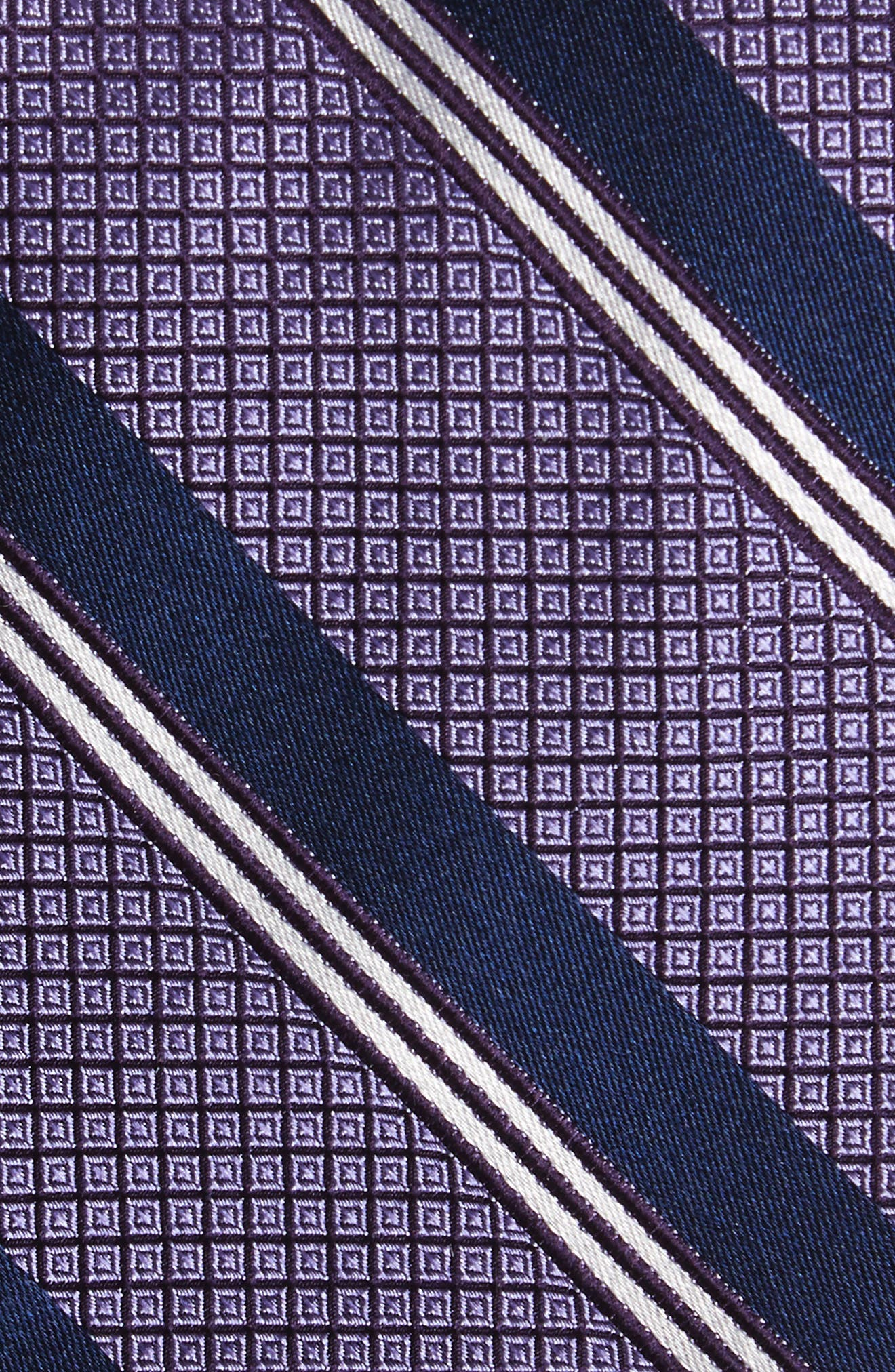 Stripe Silk Tie,                             Alternate thumbnail 7, color,