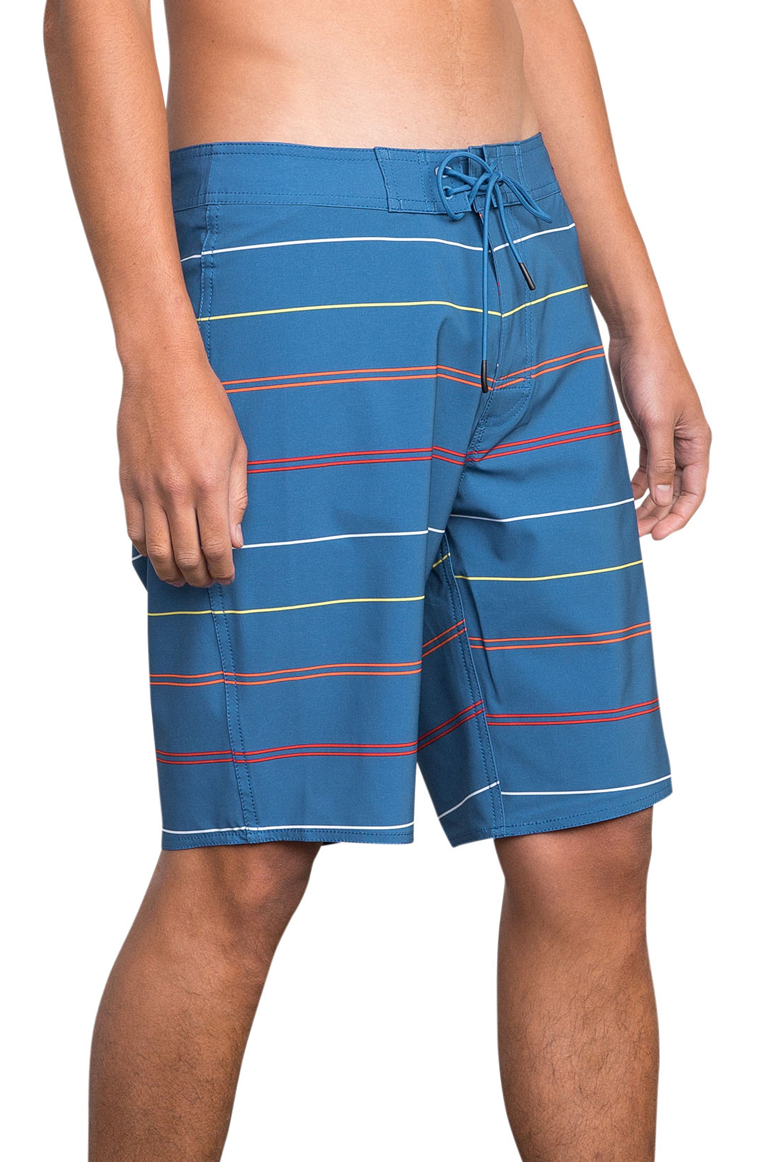 Middle Swim Trunks,                             Alternate thumbnail 4, color,                             COBALT