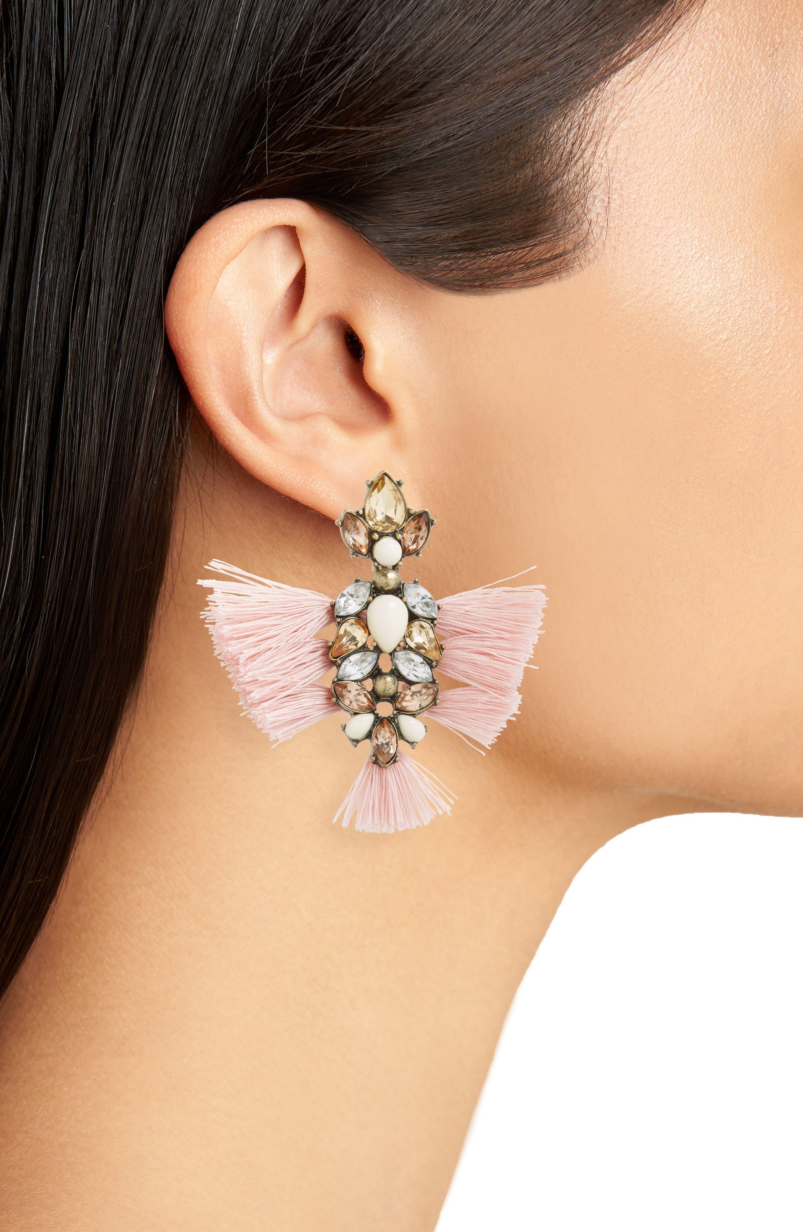 Rapunzel Earrings,                             Alternate thumbnail 2, color,