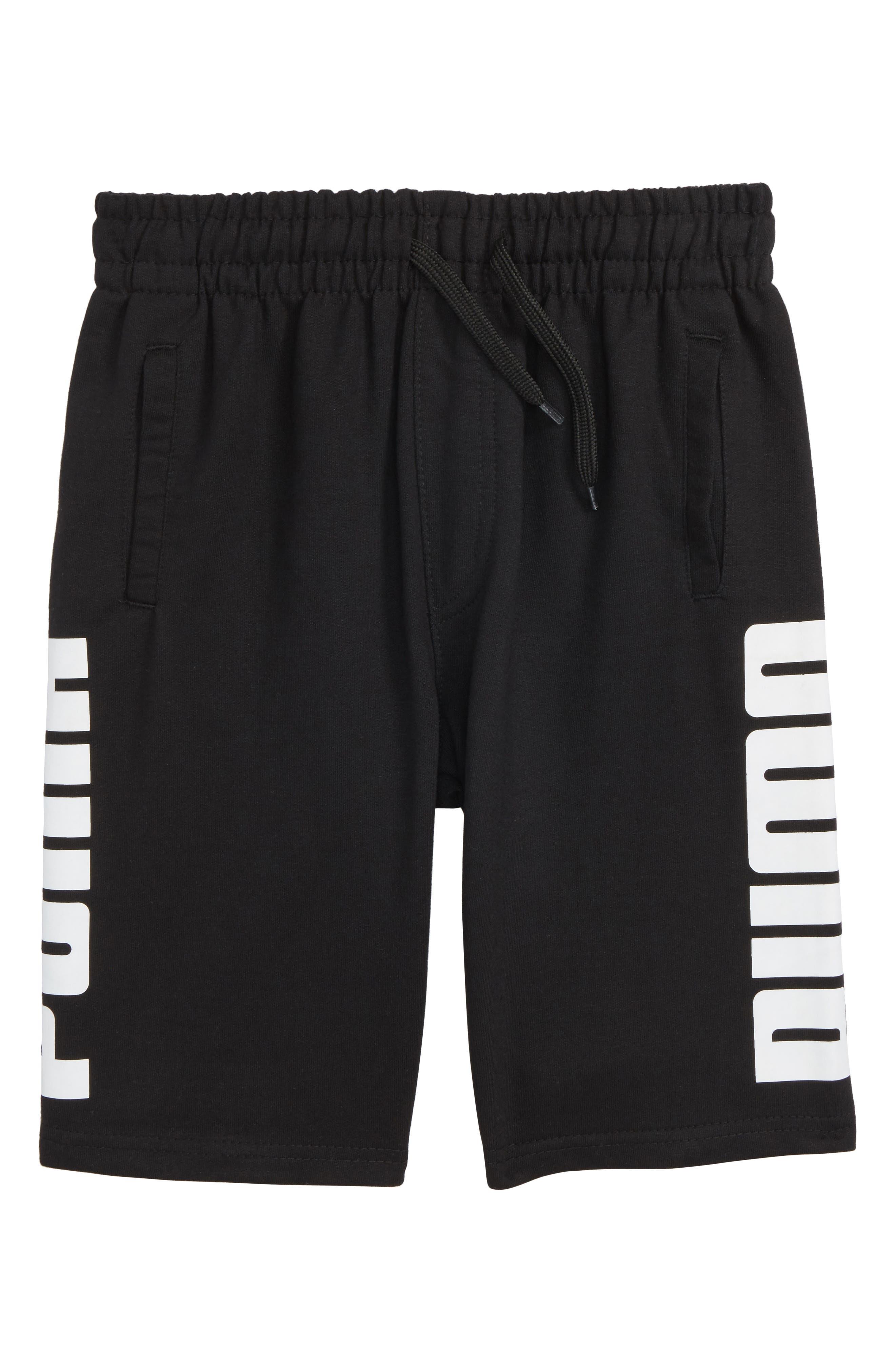 Rebel Knit Shorts,                             Main thumbnail 1, color,                             001