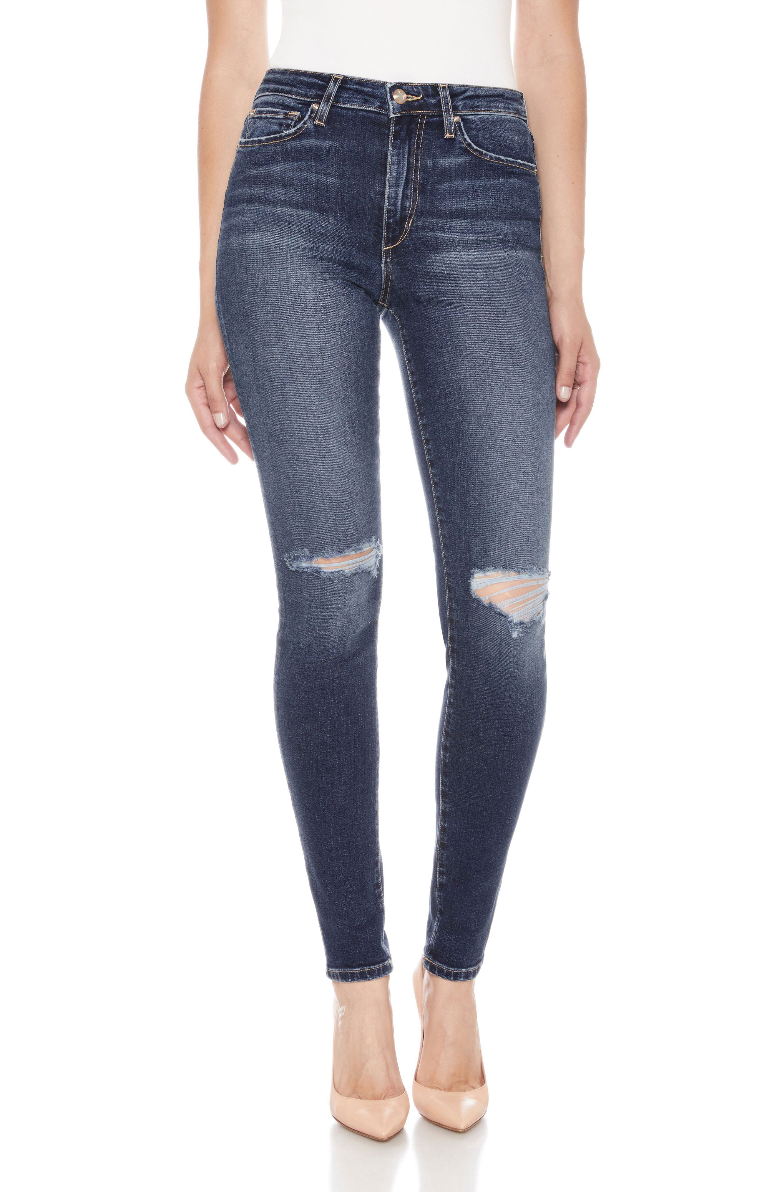 Flawless - Icon Ankle Skinny Jeans,                             Main thumbnail 1, color,                             MANDALA