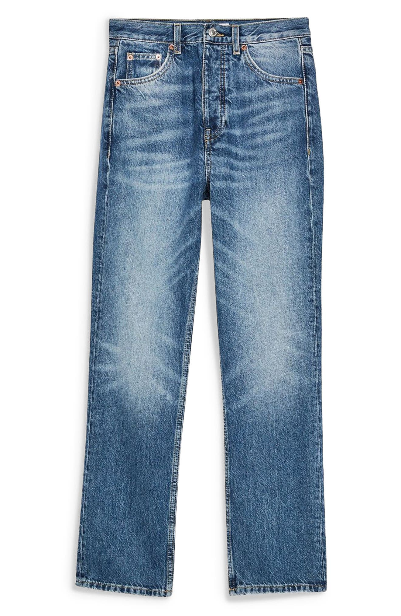 Editor Jeans,                             Alternate thumbnail 3, color,                             MID DENIM