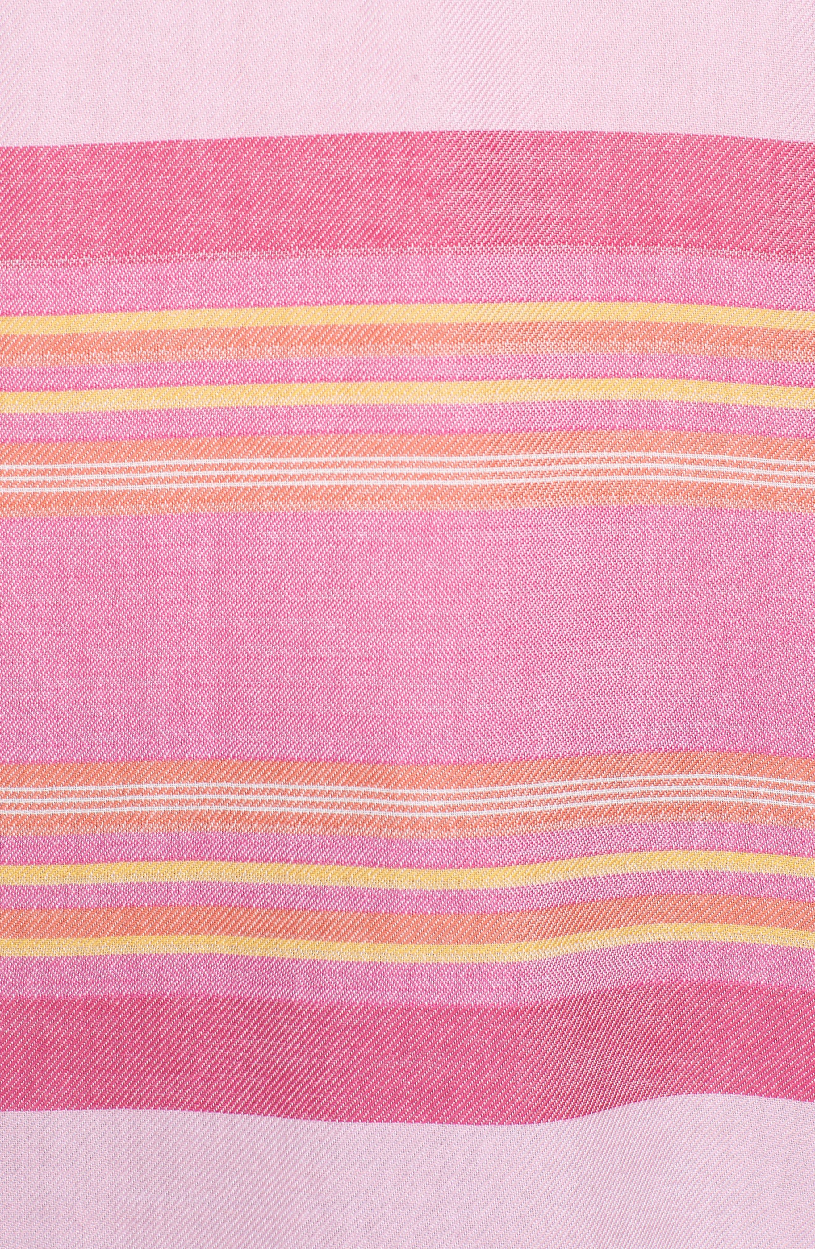 Sunset Stripe Hoodie,                             Alternate thumbnail 5, color,