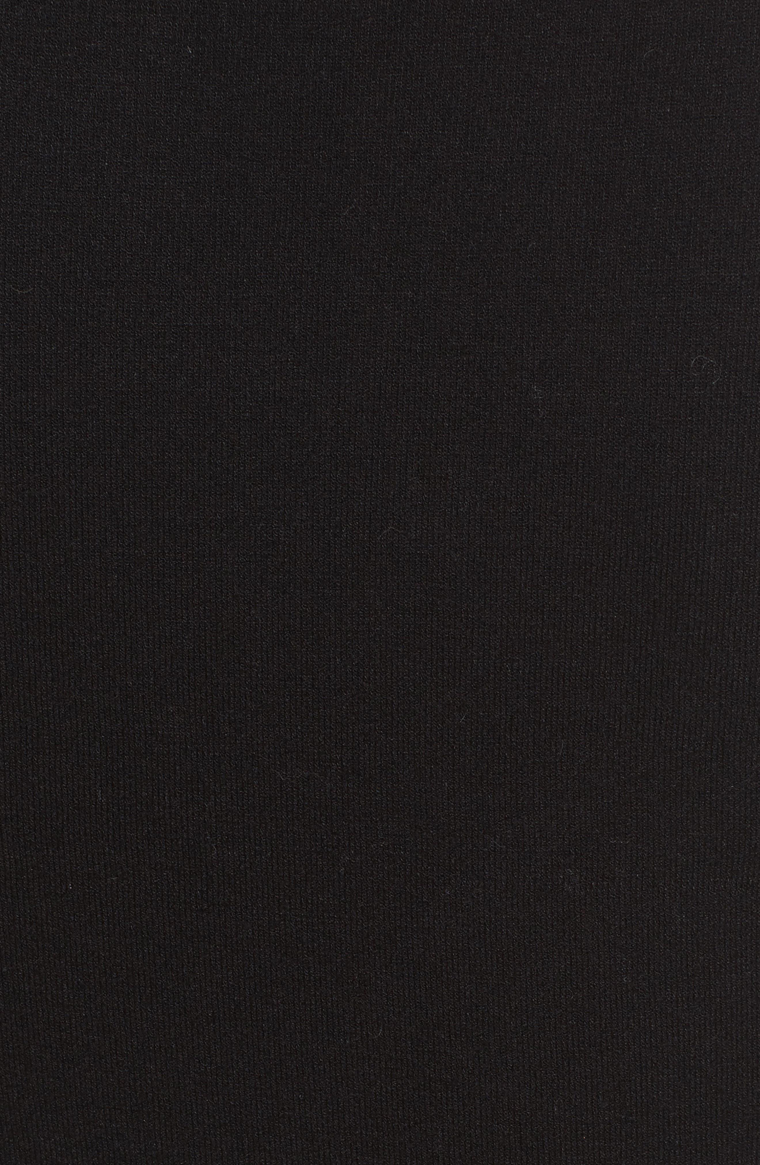 Railey Cutout Dress,                             Alternate thumbnail 5, color,                             001
