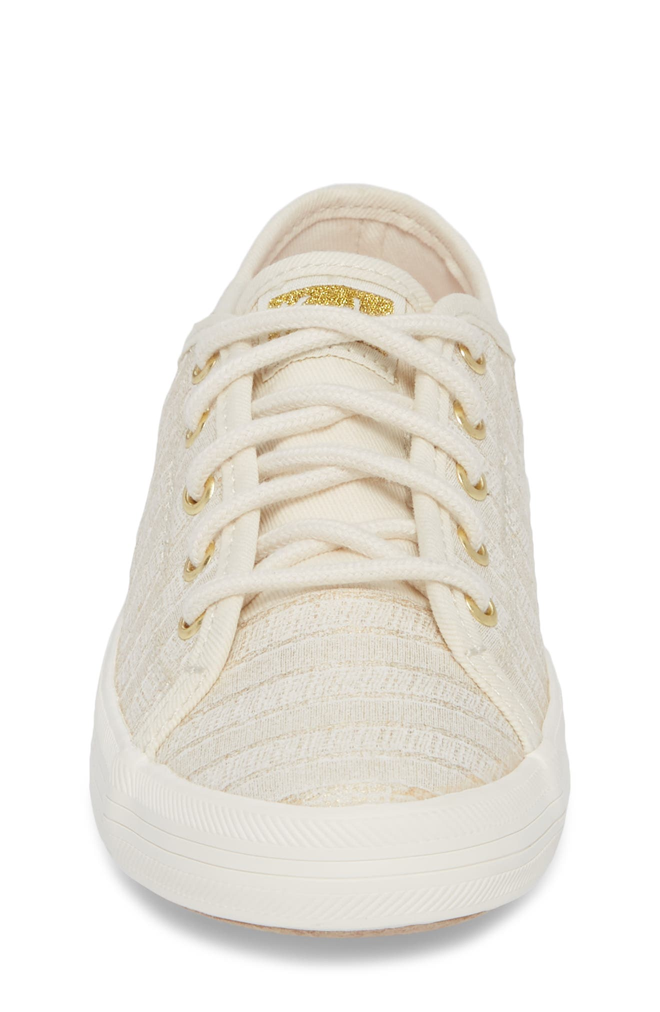 Kickstart Metallic Stripe Sneaker,                             Alternate thumbnail 4, color,                             400