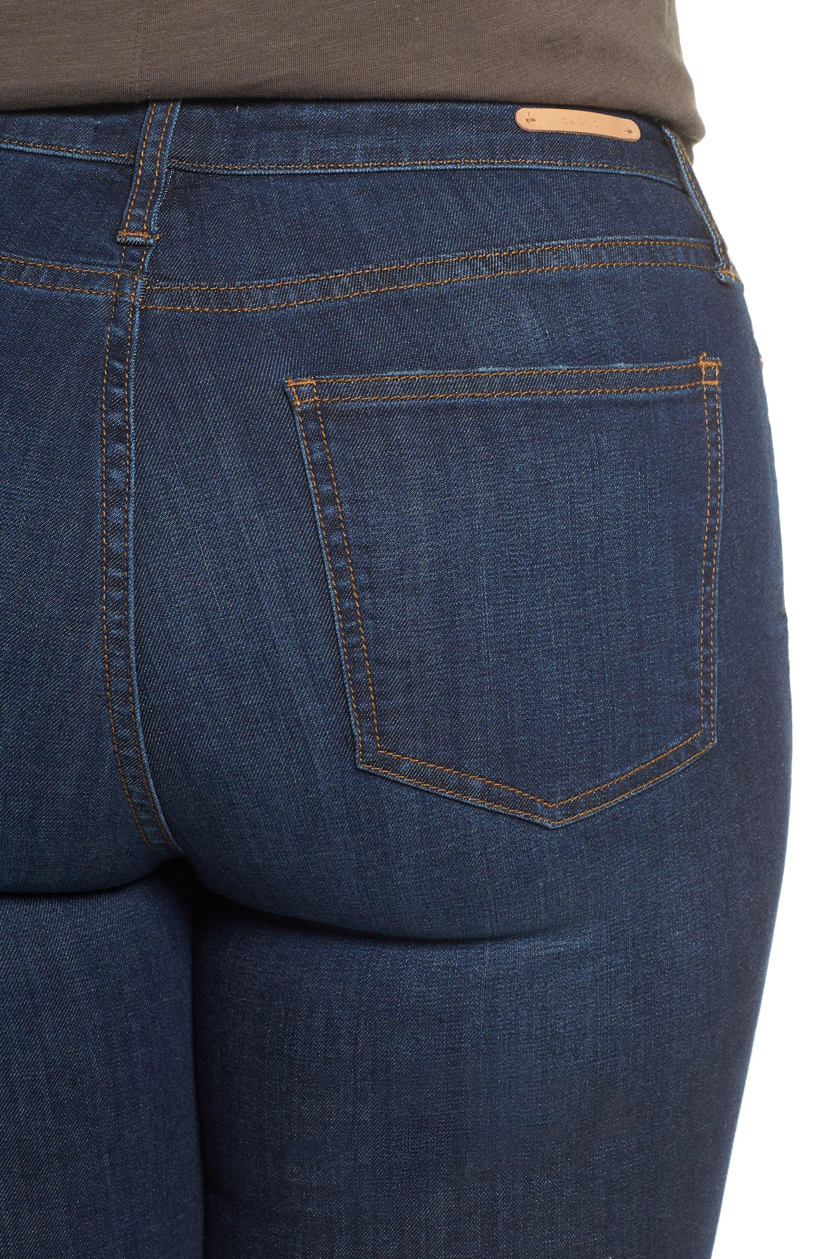 Stretch Skinny Jeans,                             Alternate thumbnail 4, color,                             MEDIUM WASH