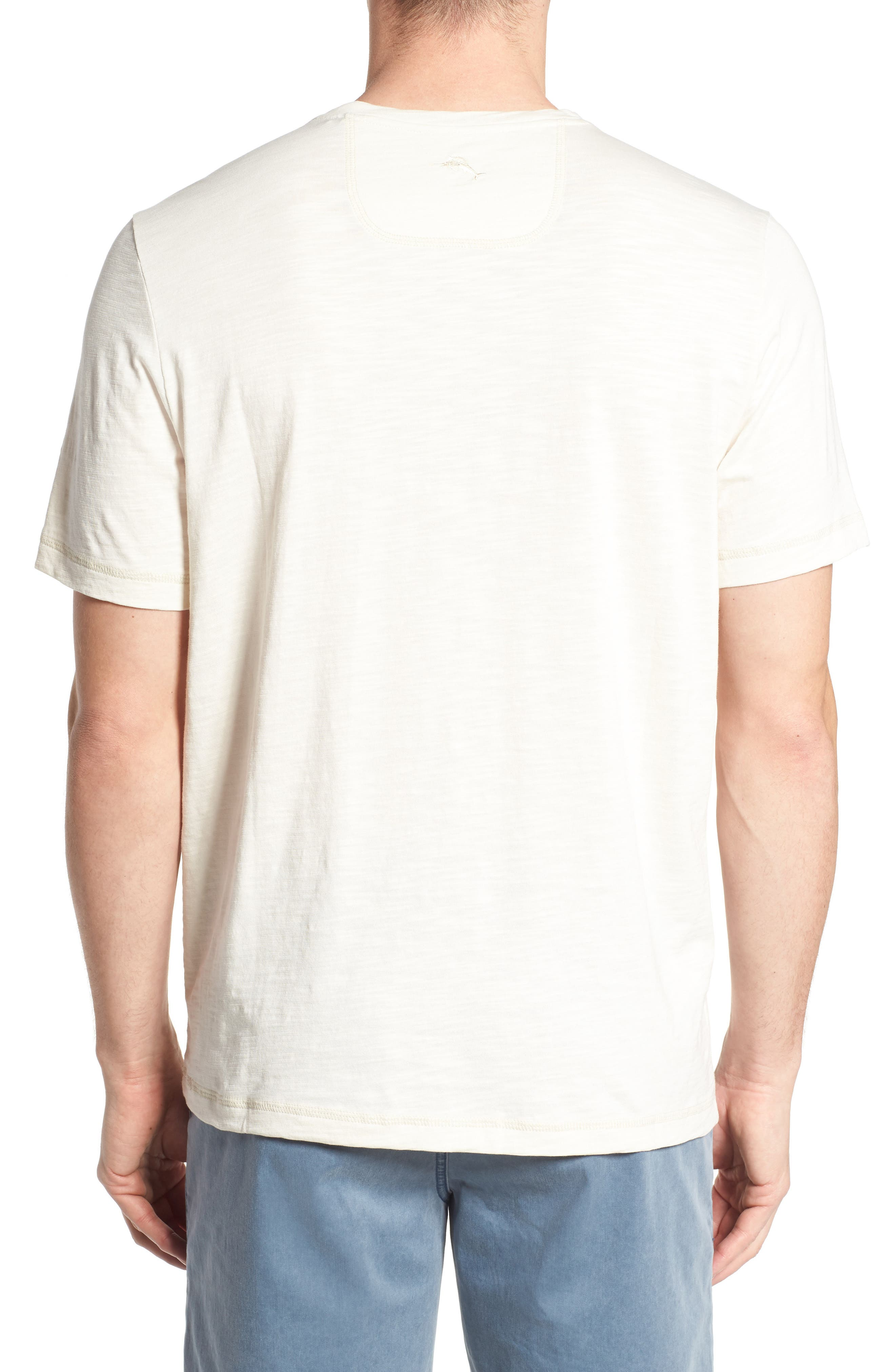 Portside Palms V-Neck T-Shirt,                             Alternate thumbnail 12, color,