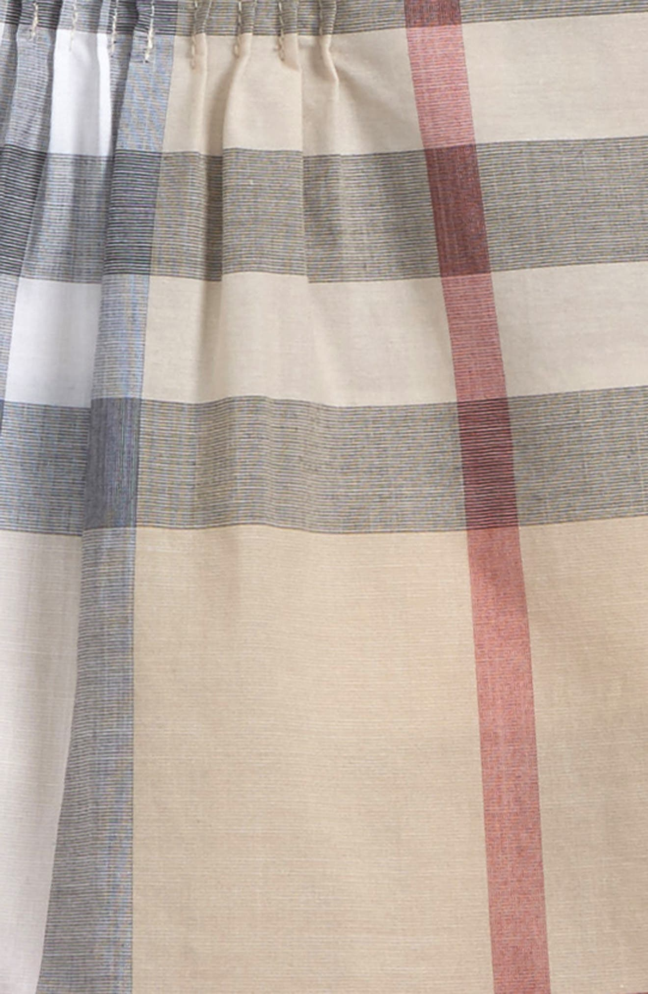 Neela Check Print Cotton Tunic,                             Alternate thumbnail 2, color,                             275