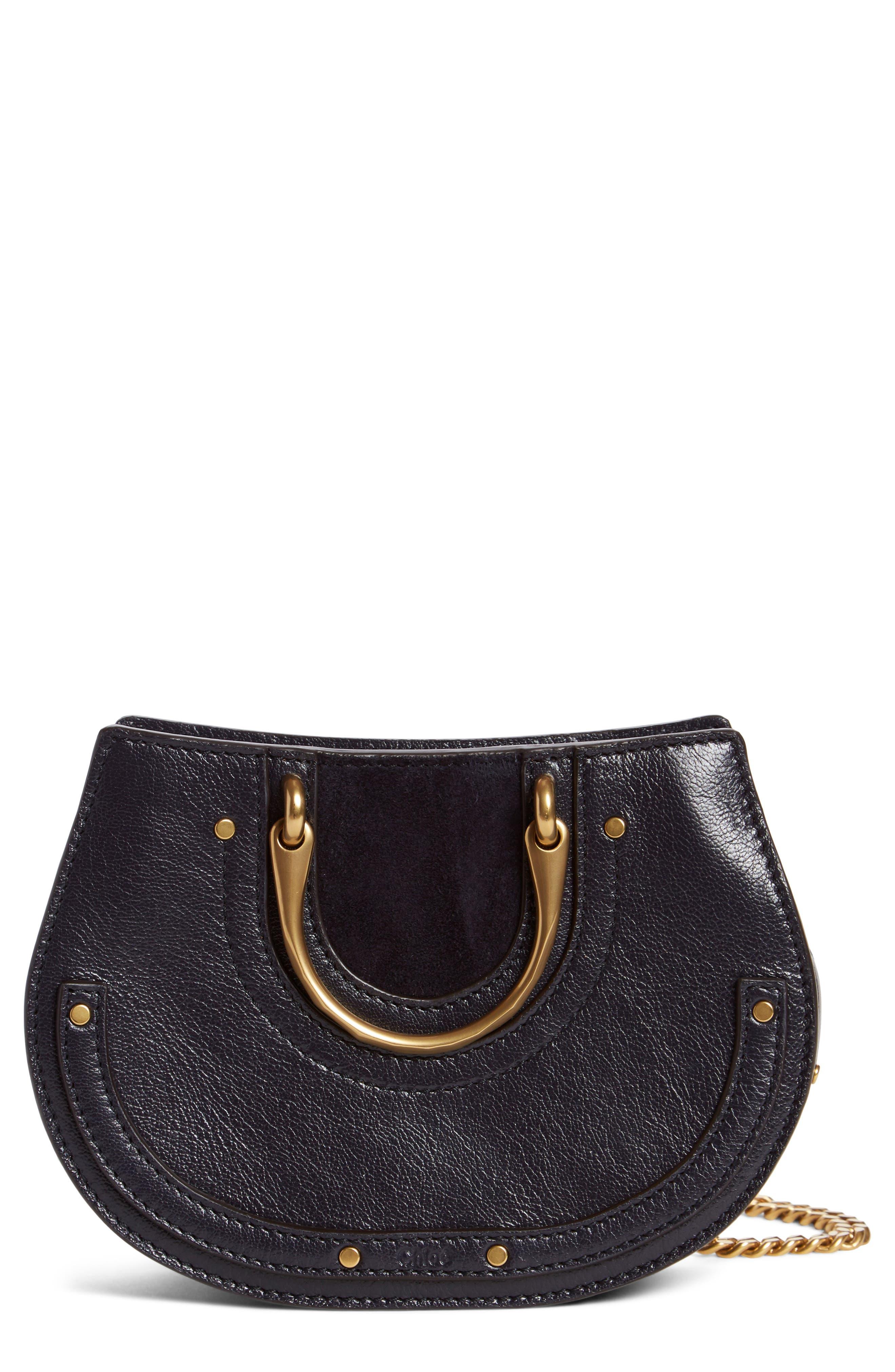 Micro Pixie Leather Top Handle Satchel,                         Main,                         color,