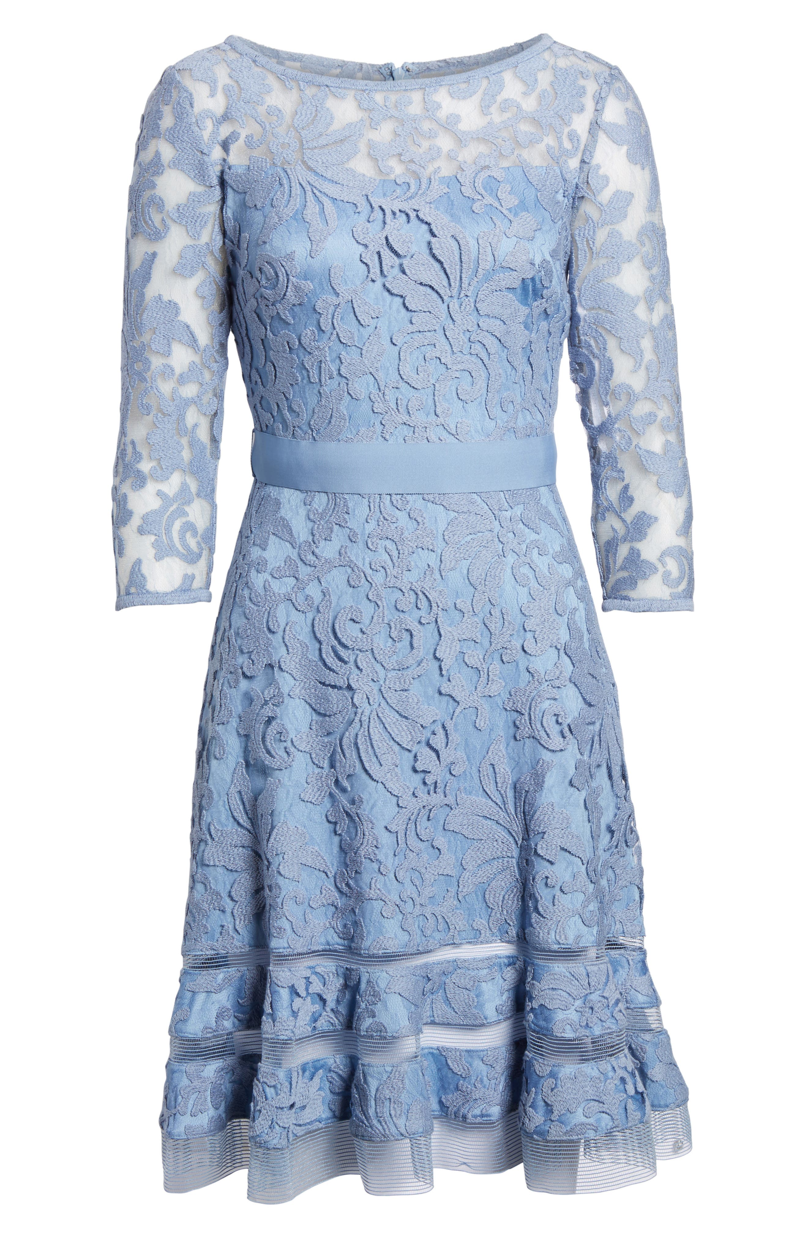 Lace Overlay Dress,                             Alternate thumbnail 10, color,